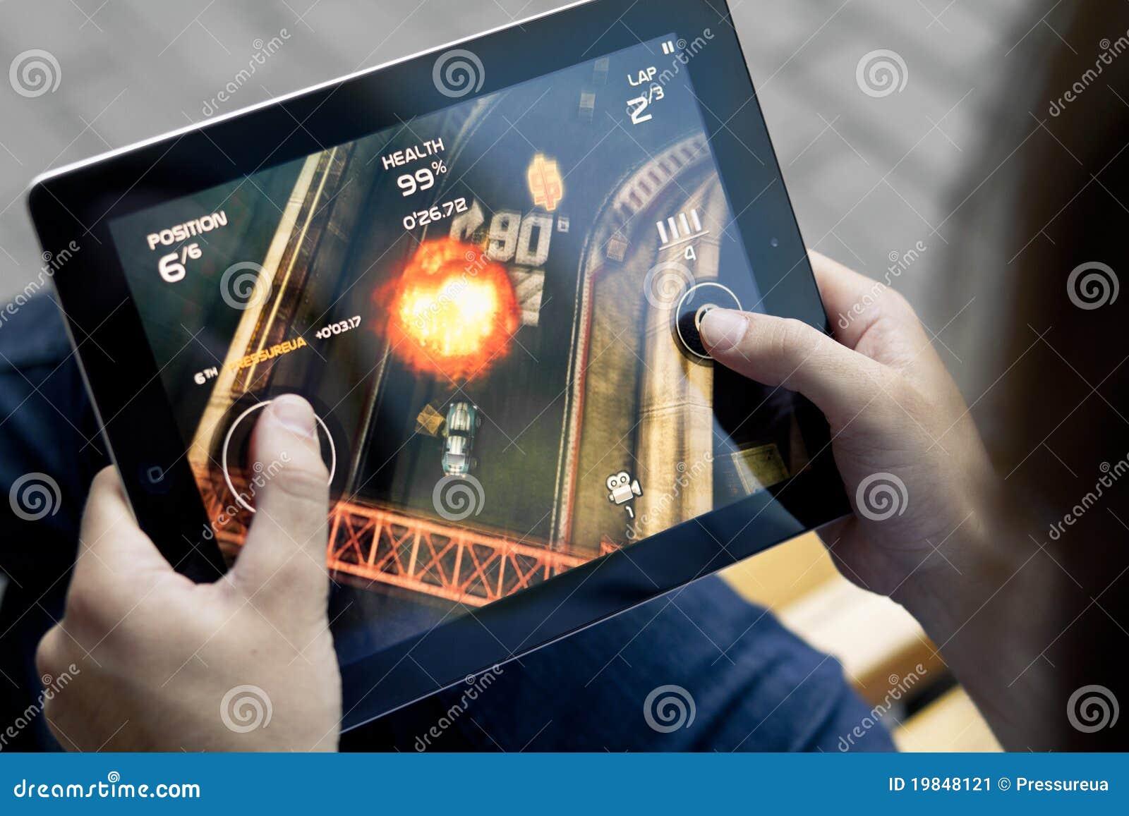 Speel de Verzameling van de Dood op Appel Ipad2