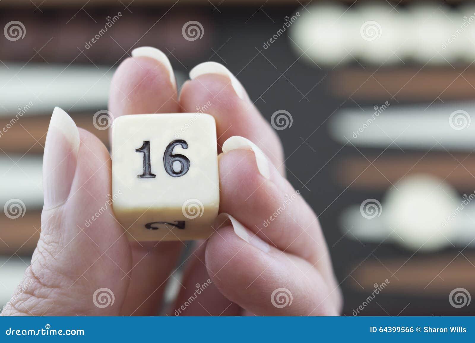 Speelspelenreeks - Rolling Backgammon dobbel - Nr 16