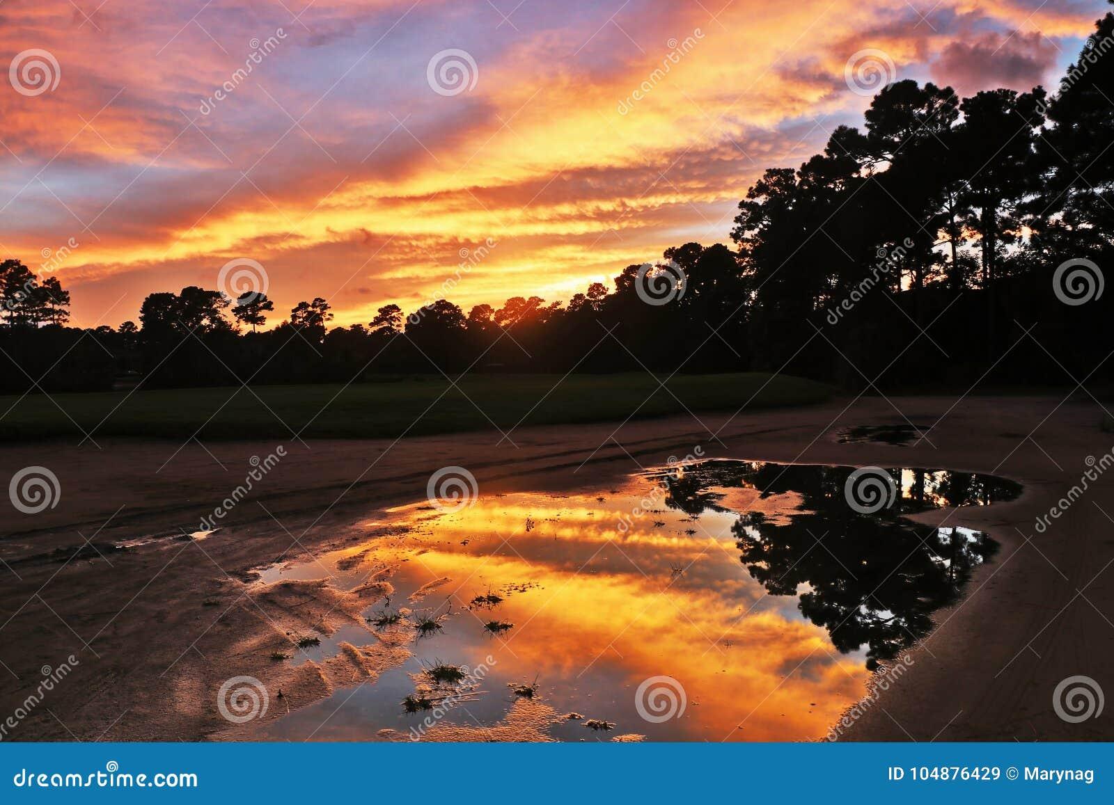 Spektakulär naturbakgrund