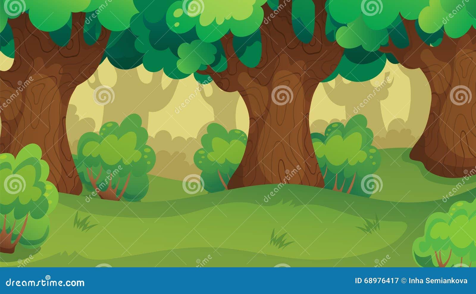 Spel Forest Oakwood Landscape