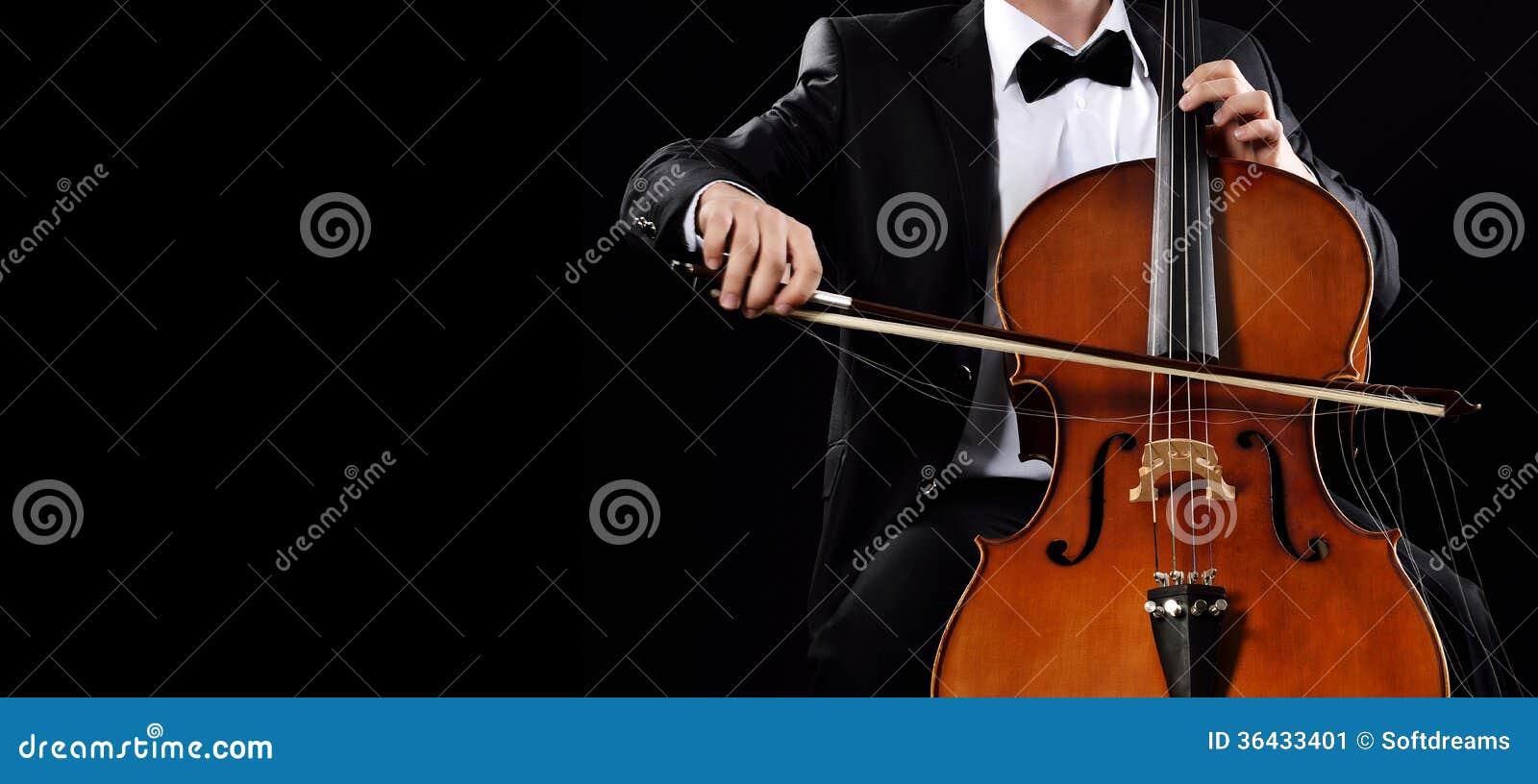 Spela violoncellen