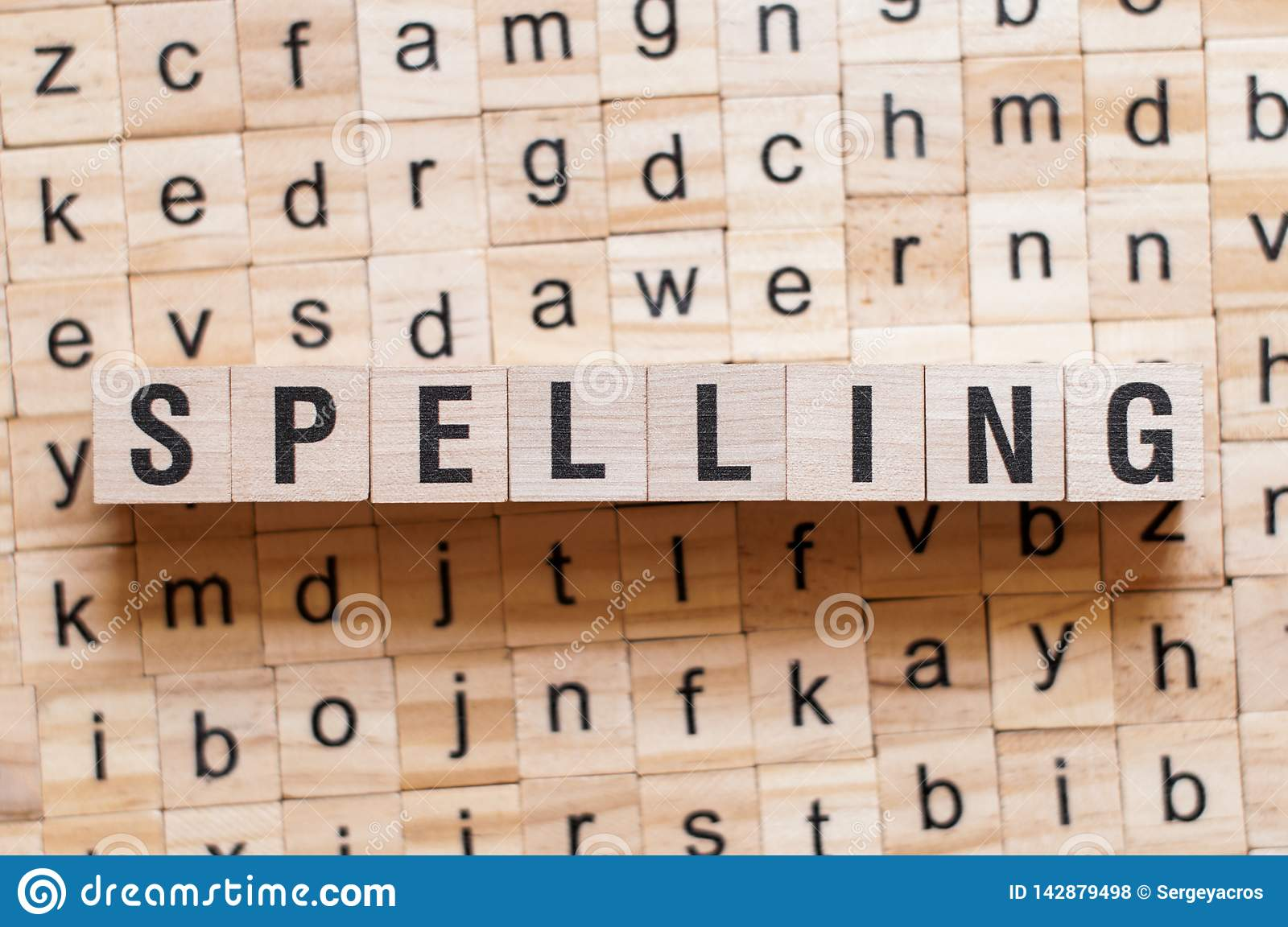 Spelling word concept