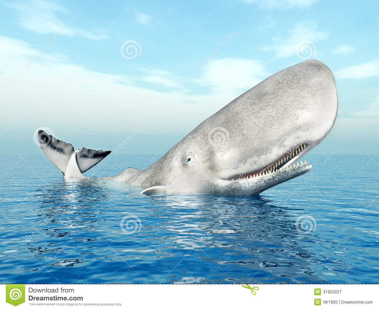 Sperm Whale Royalty Free Stock Photography - Image: 31820227
