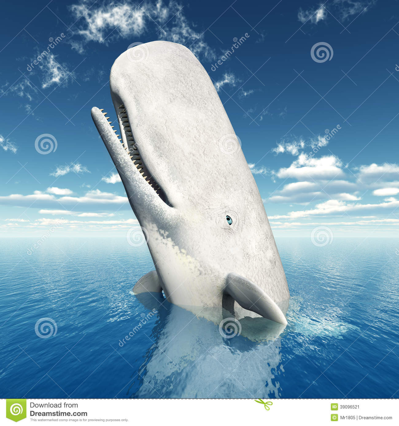 Commit error. Sperm whale illustrations think, that