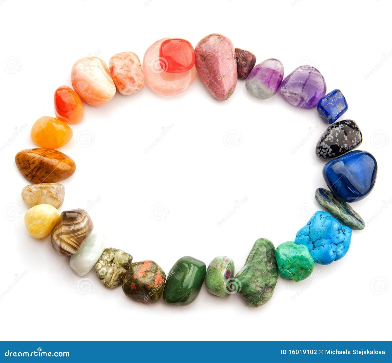 Spettro di colore della pietra preziosa