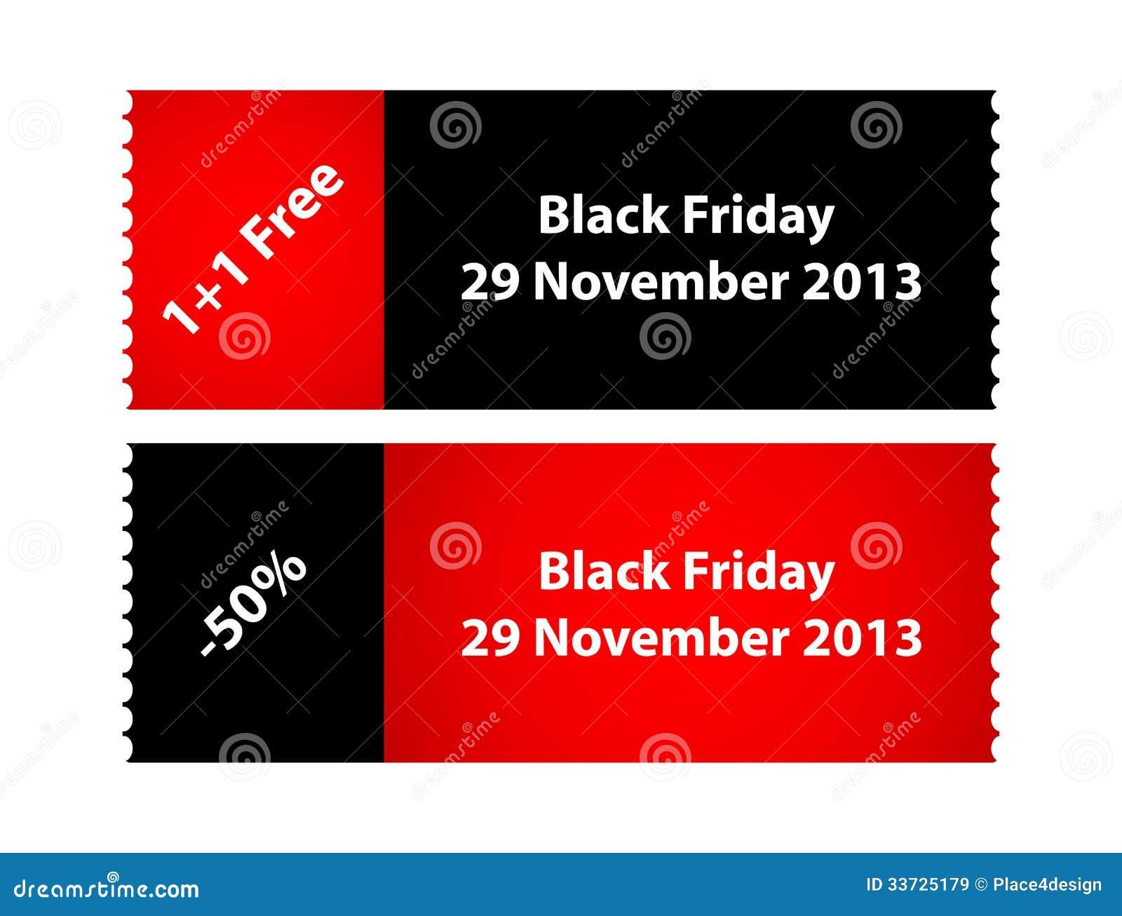 Spezielle schwarze Freitag-Aufkleber