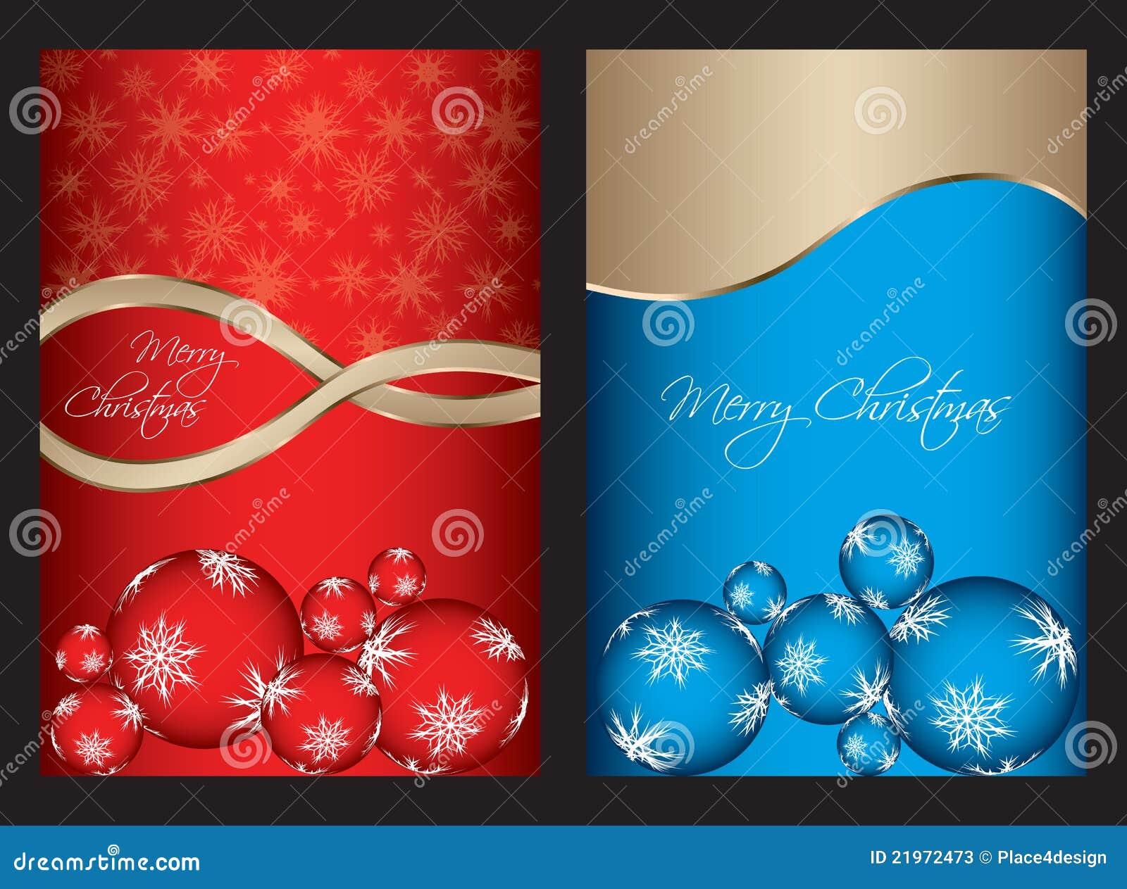 Spezielle weihnachtskarten vektor abbildung illustration von rand 21972473 - Weihnachtskarten download ...