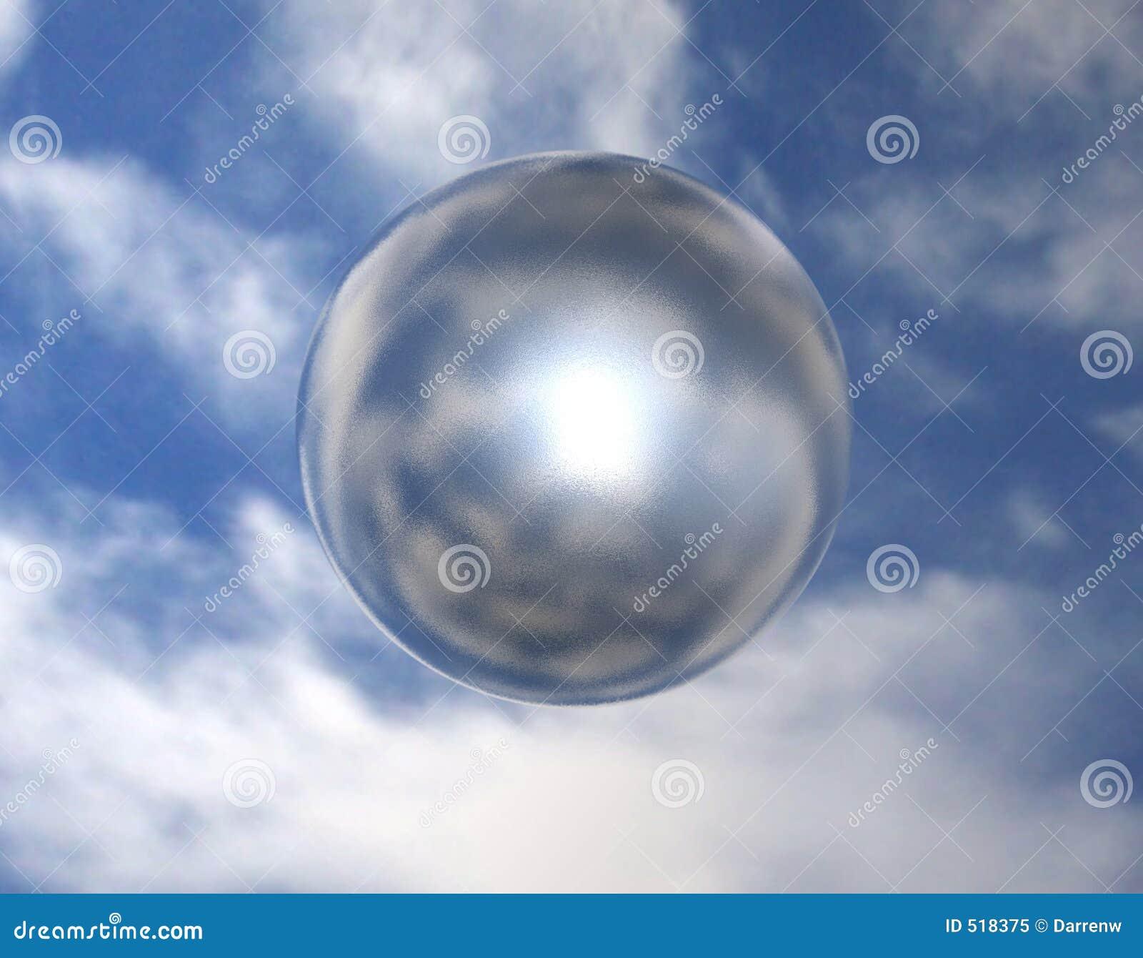 Sphère 002 de miroir