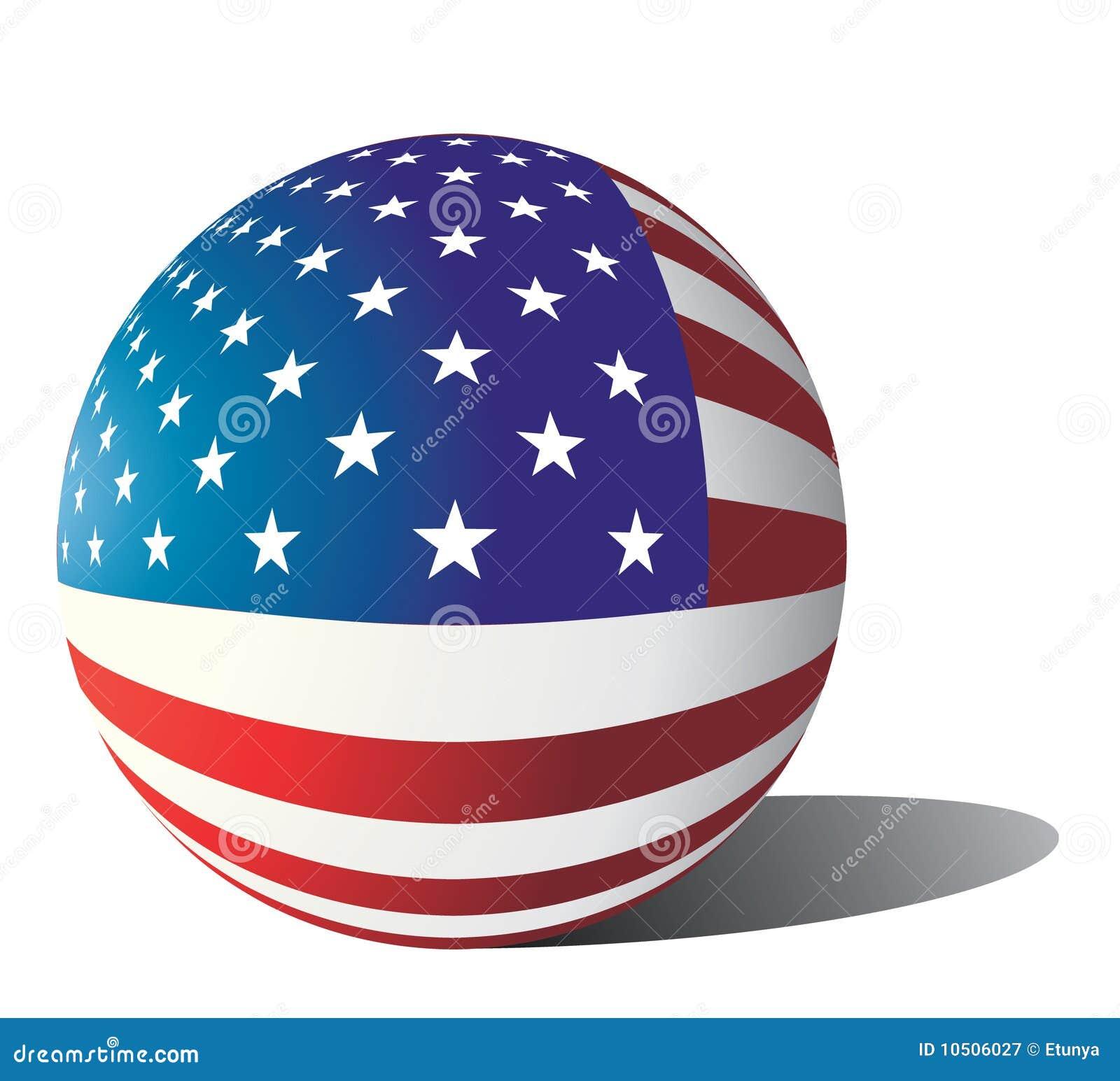 Sphère Etats-Unis d indicateur