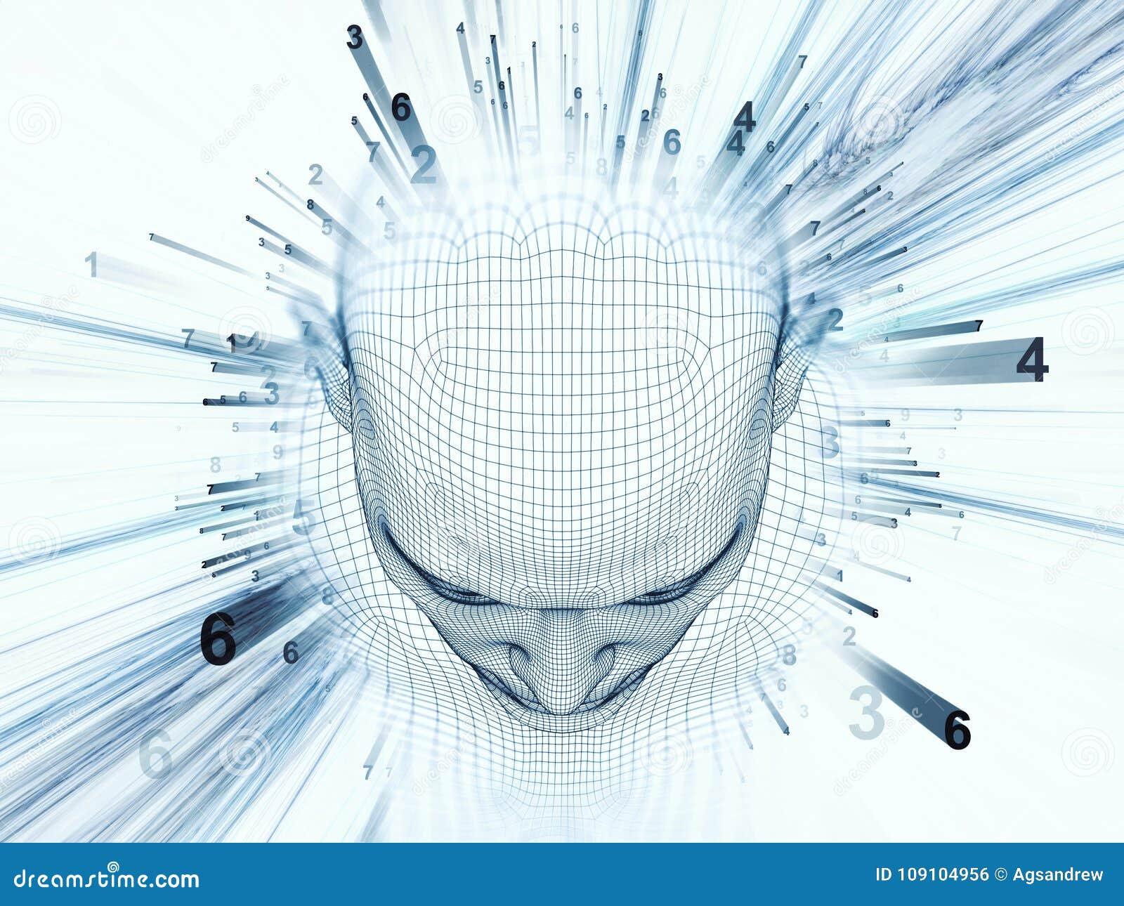 Spheres of the Mind stock illustration. Illustration of grid - 109104956