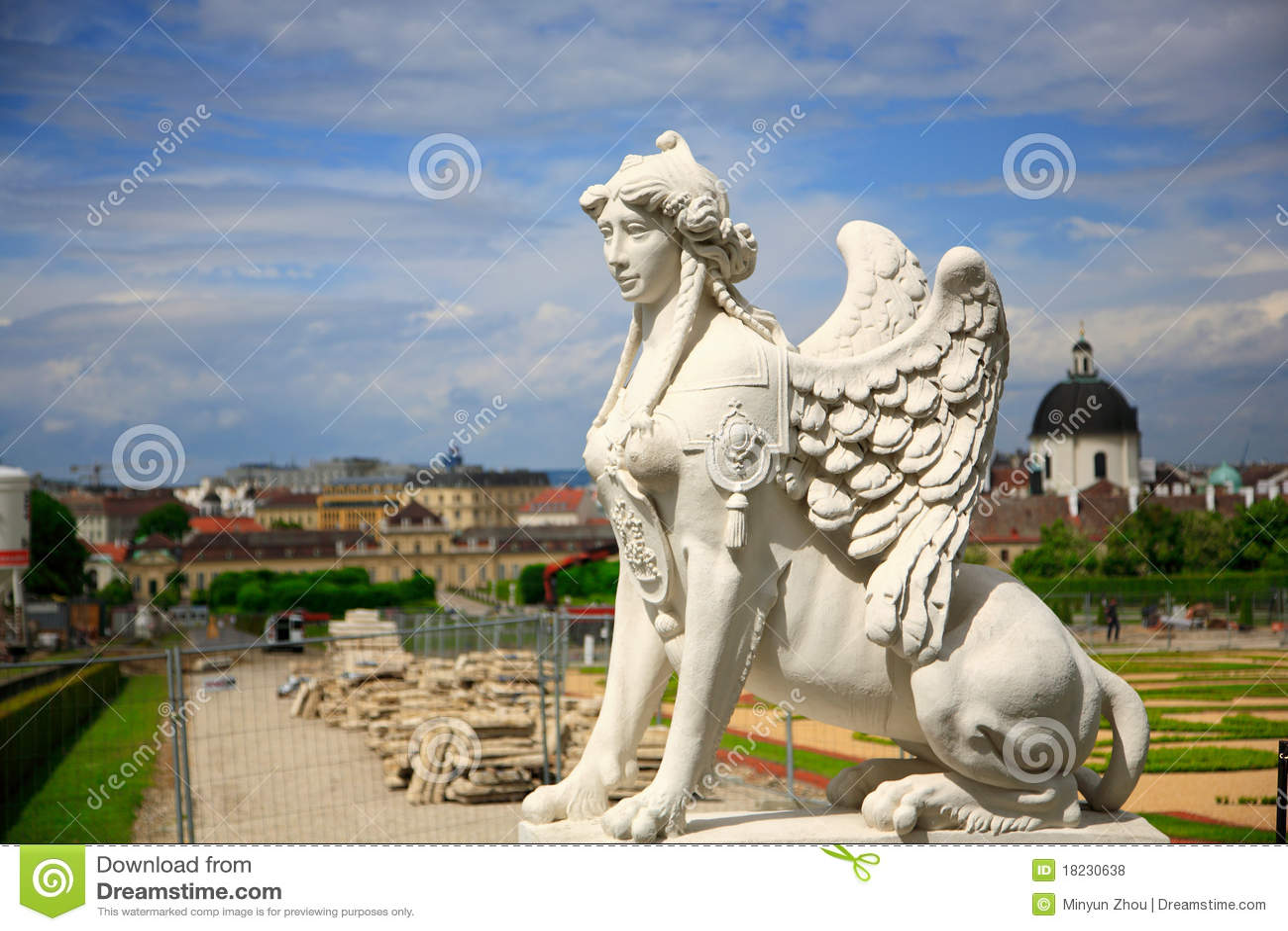 Sphinx.Belvedere, Vienne