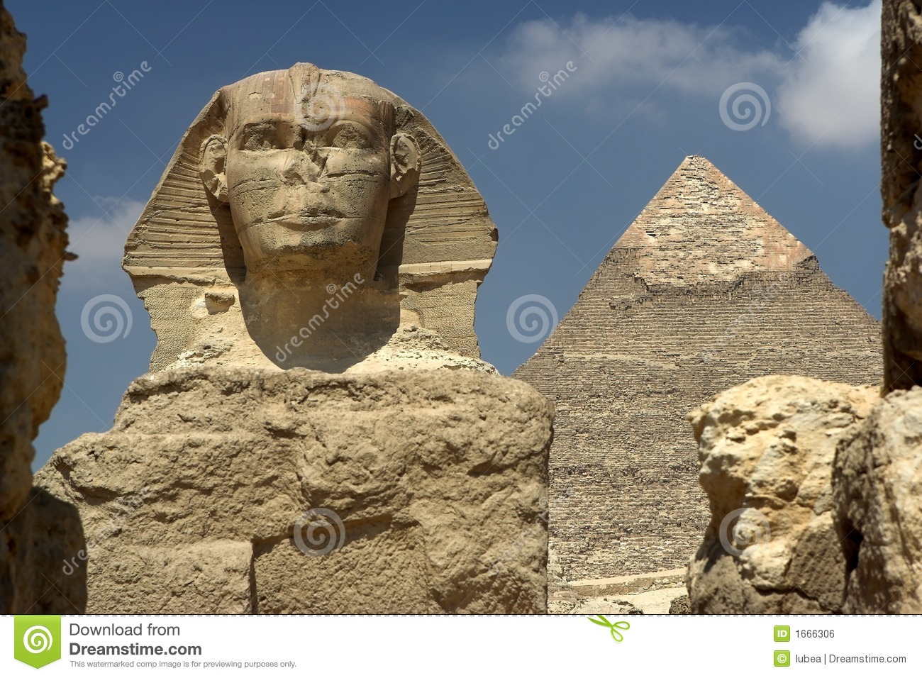 Sphinx, le Caire Egypte