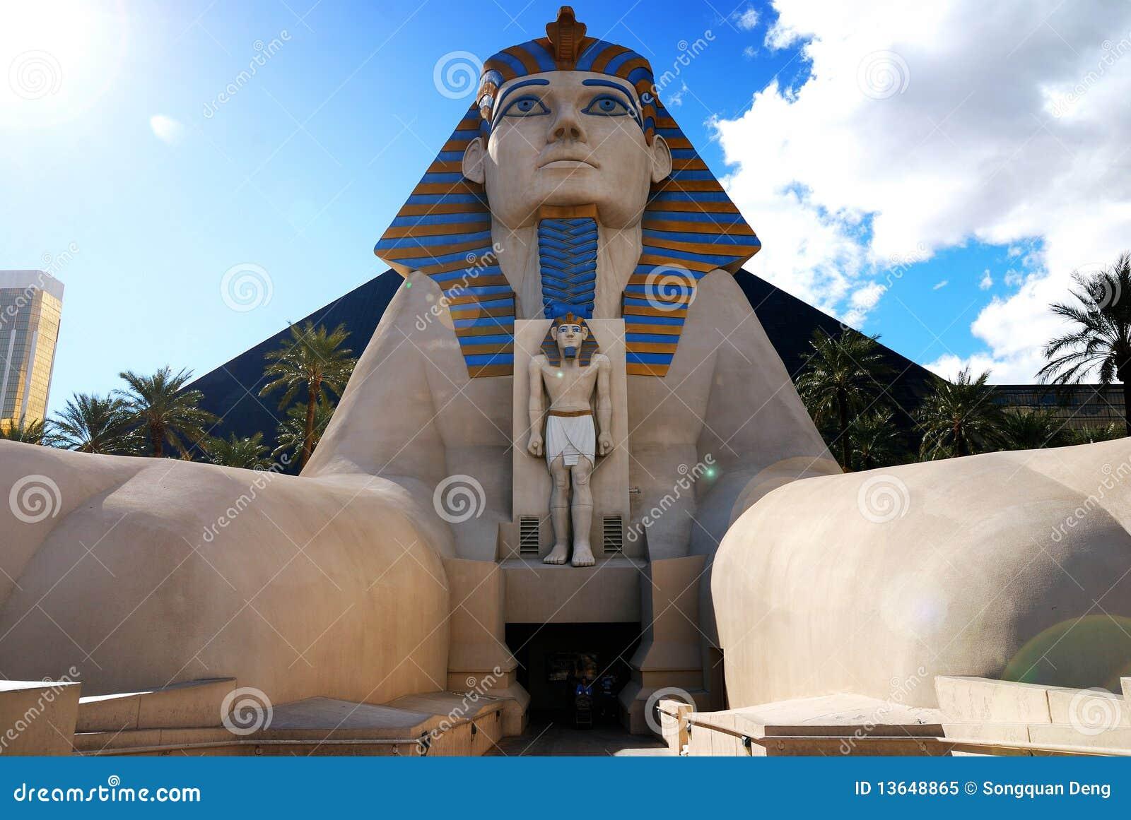 Sphinx Statue Luxor Hotel Las Vegas Editorial Image