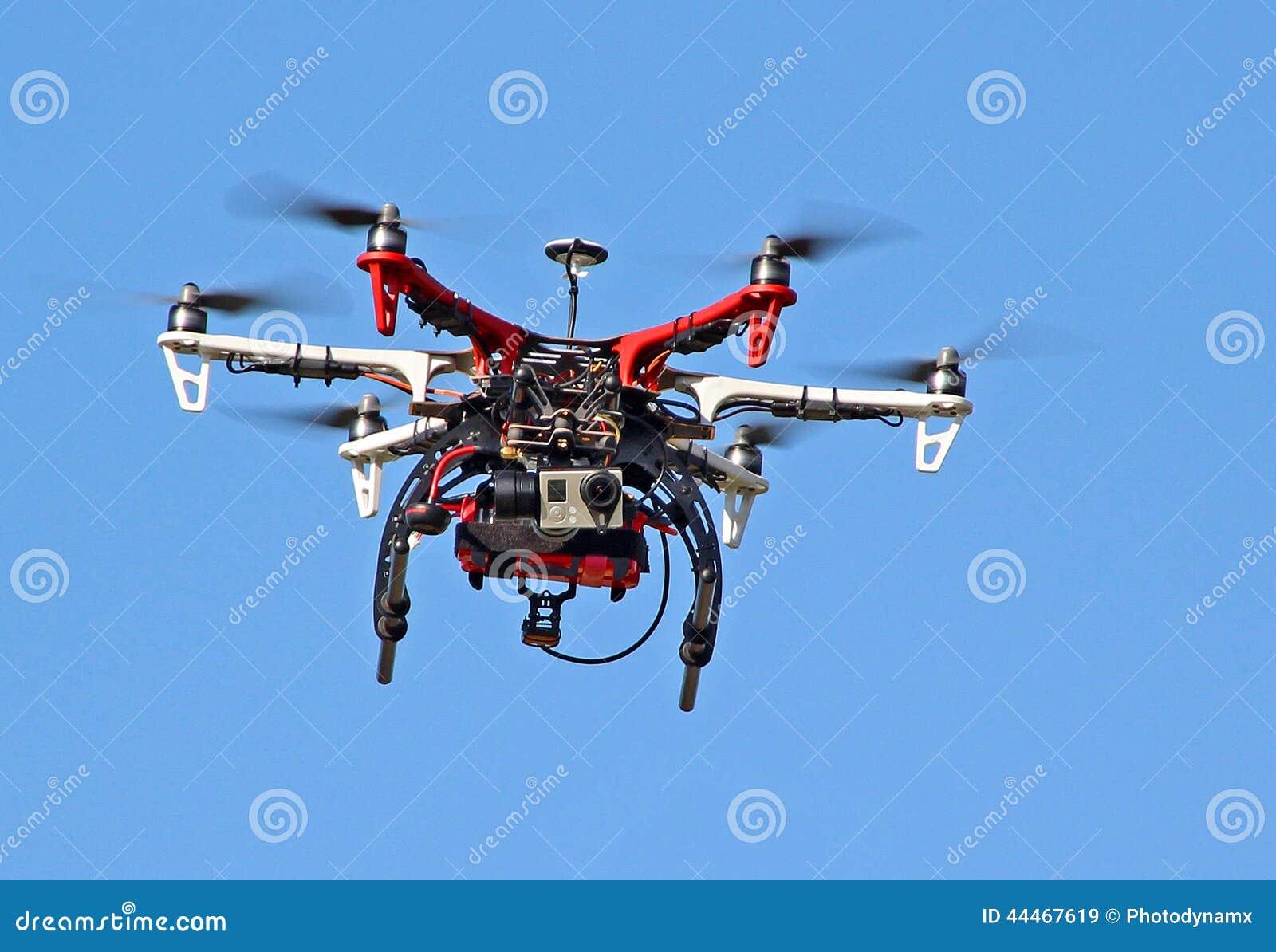 Spia della videocamera del fuco di volo