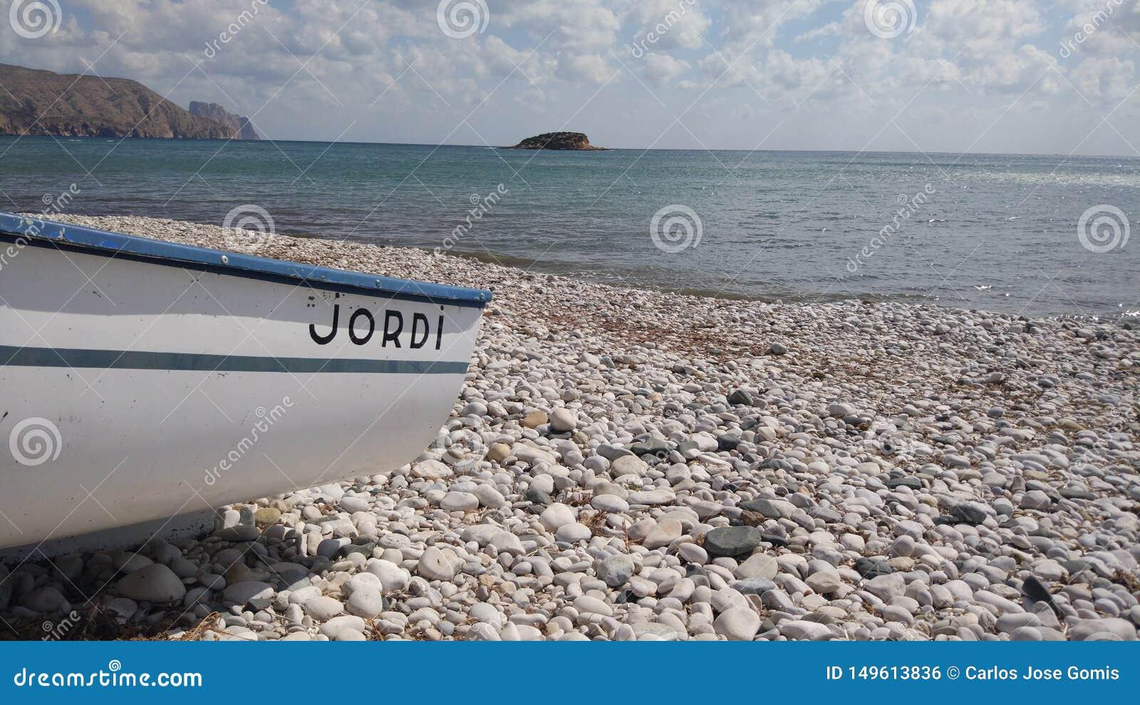 Spiaggia del olla Altea spagna