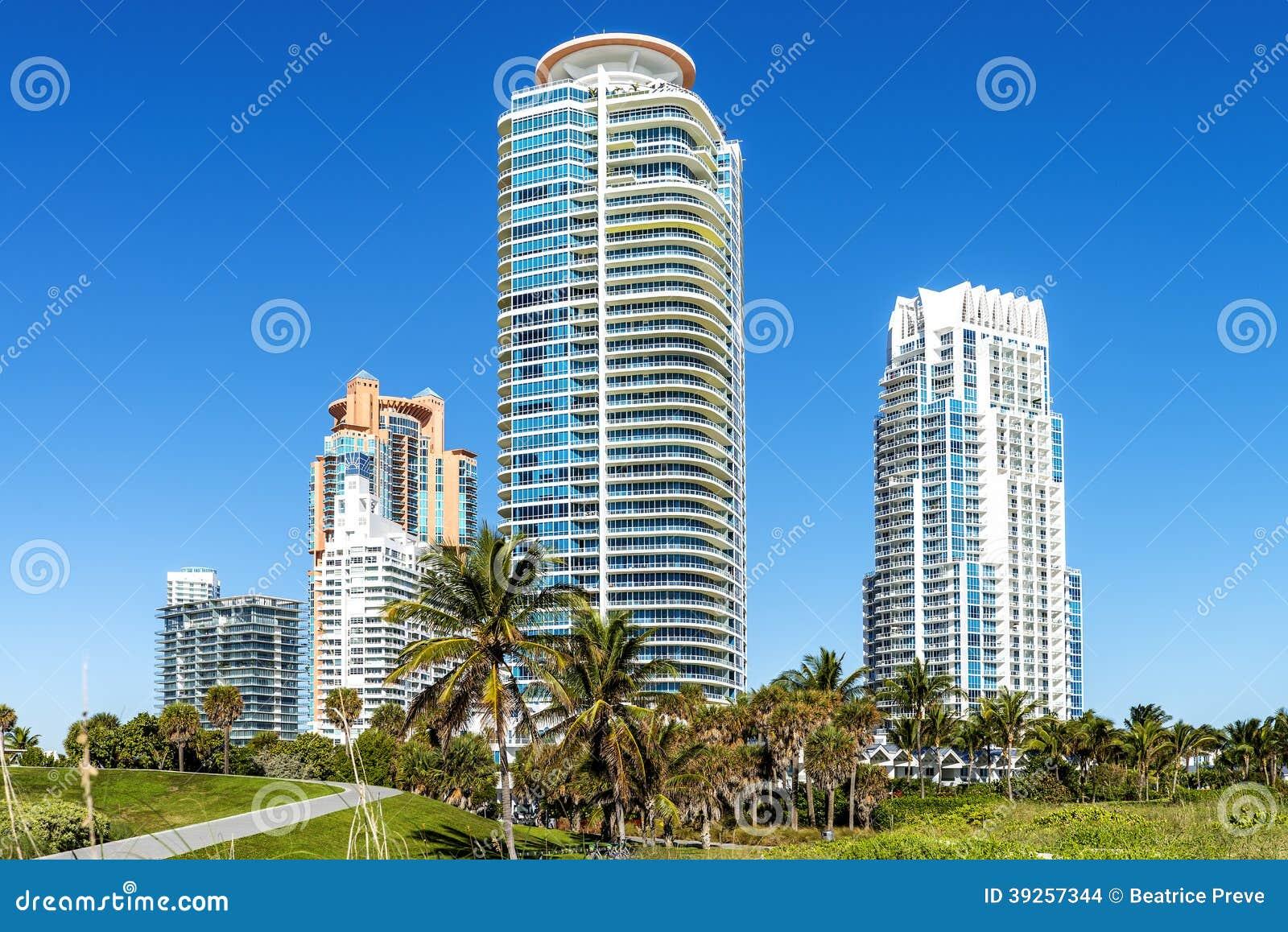 Spiaggia del sud di Miami