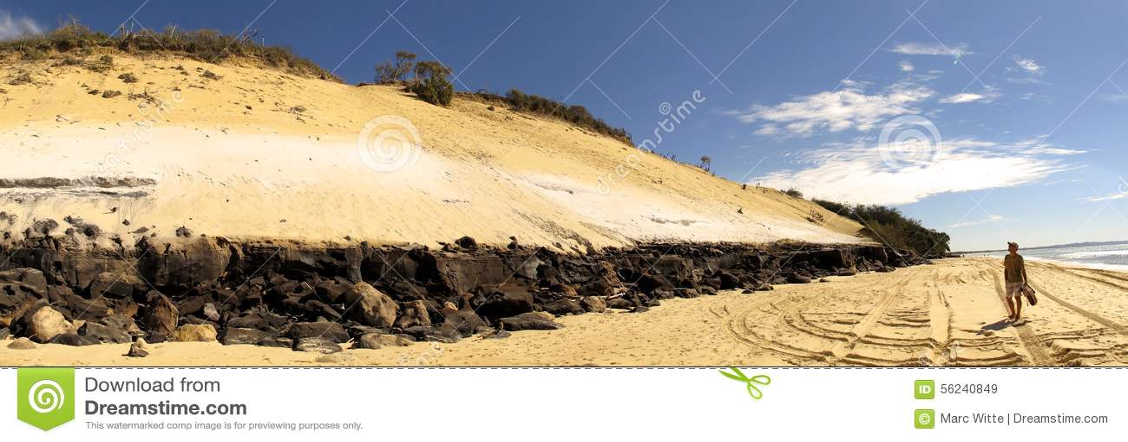 Spiaggia dell arcobaleno, Queensland, Australia