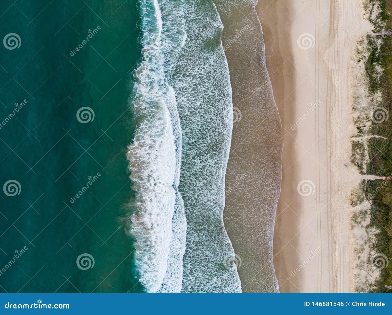 Spiaggia della sirena nel Queensland