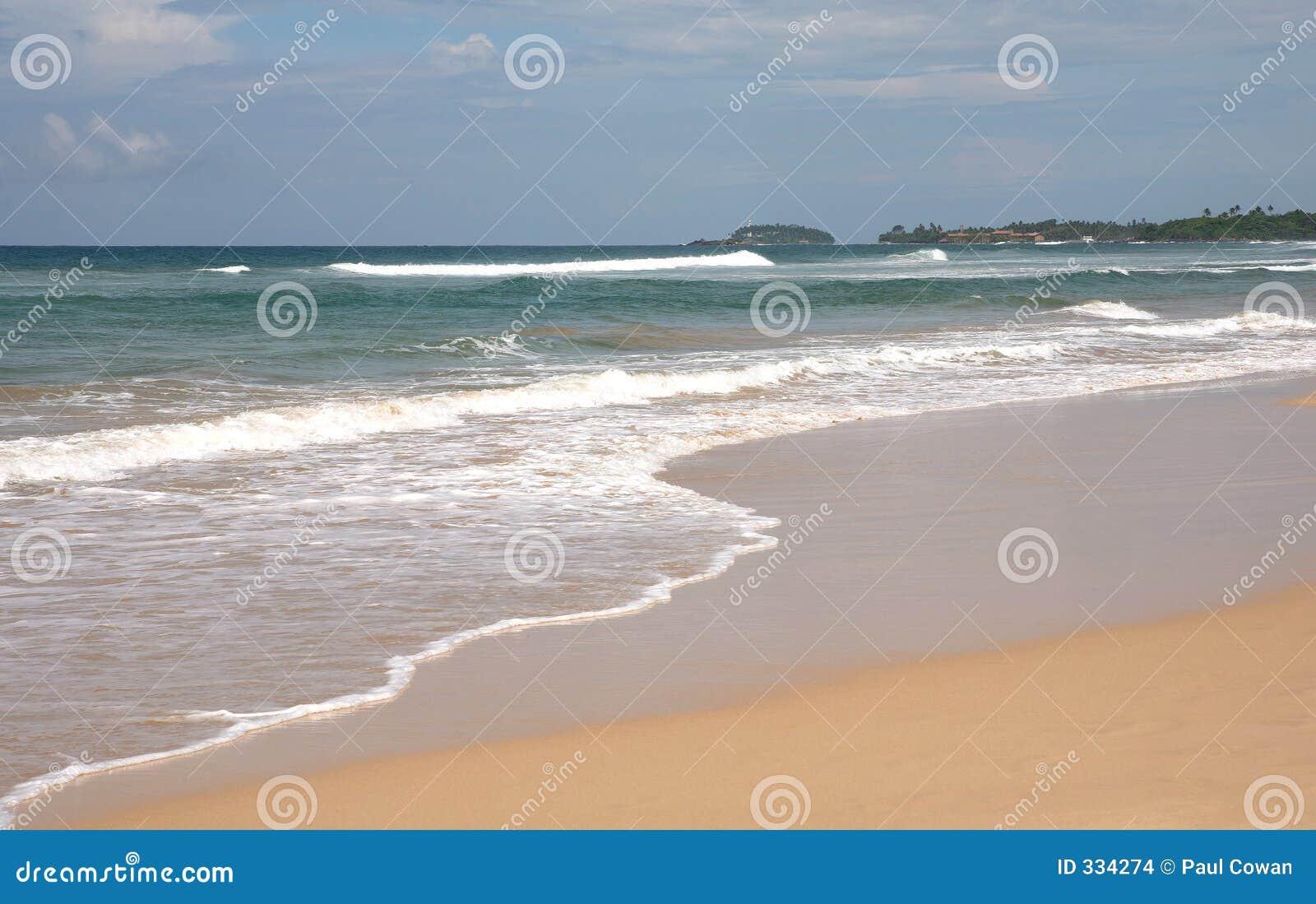 Bentota Sri Lanka  city pictures gallery : Spiaggia Di Bentota, Sri Lanka Immagini Stock Immagine: 334274