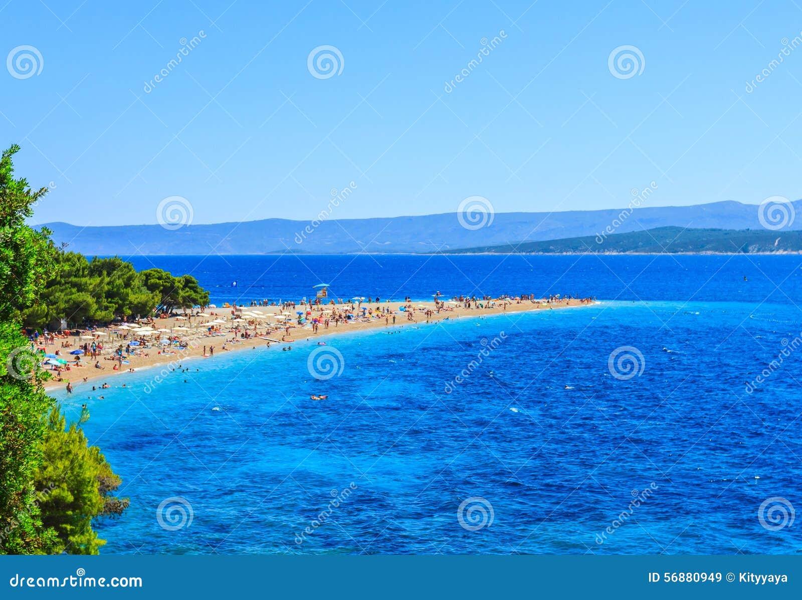 Spiaggia di Bol, Croazia