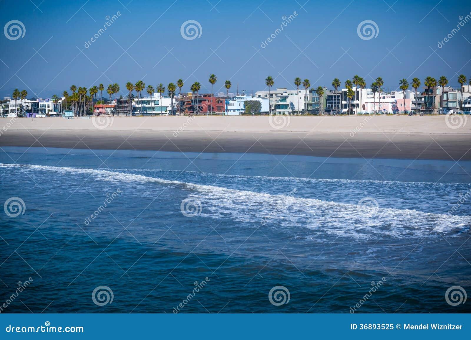 Download Spiaggia di California immagine stock. Immagine di angeles - 36893525