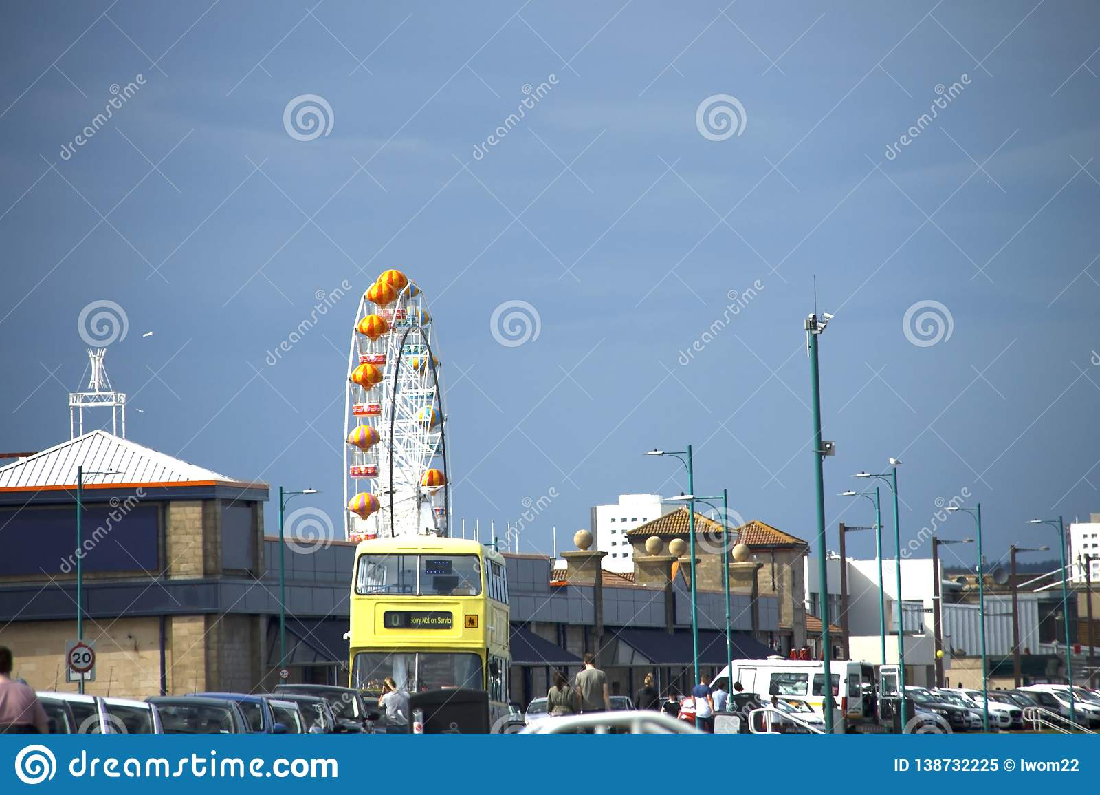 Spiaggia di divertimento di Aberdeen scotland