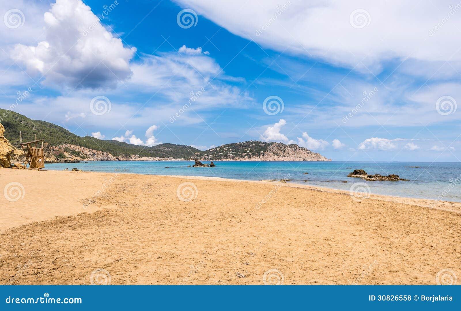 Spiaggia di Figueral in Ibiza