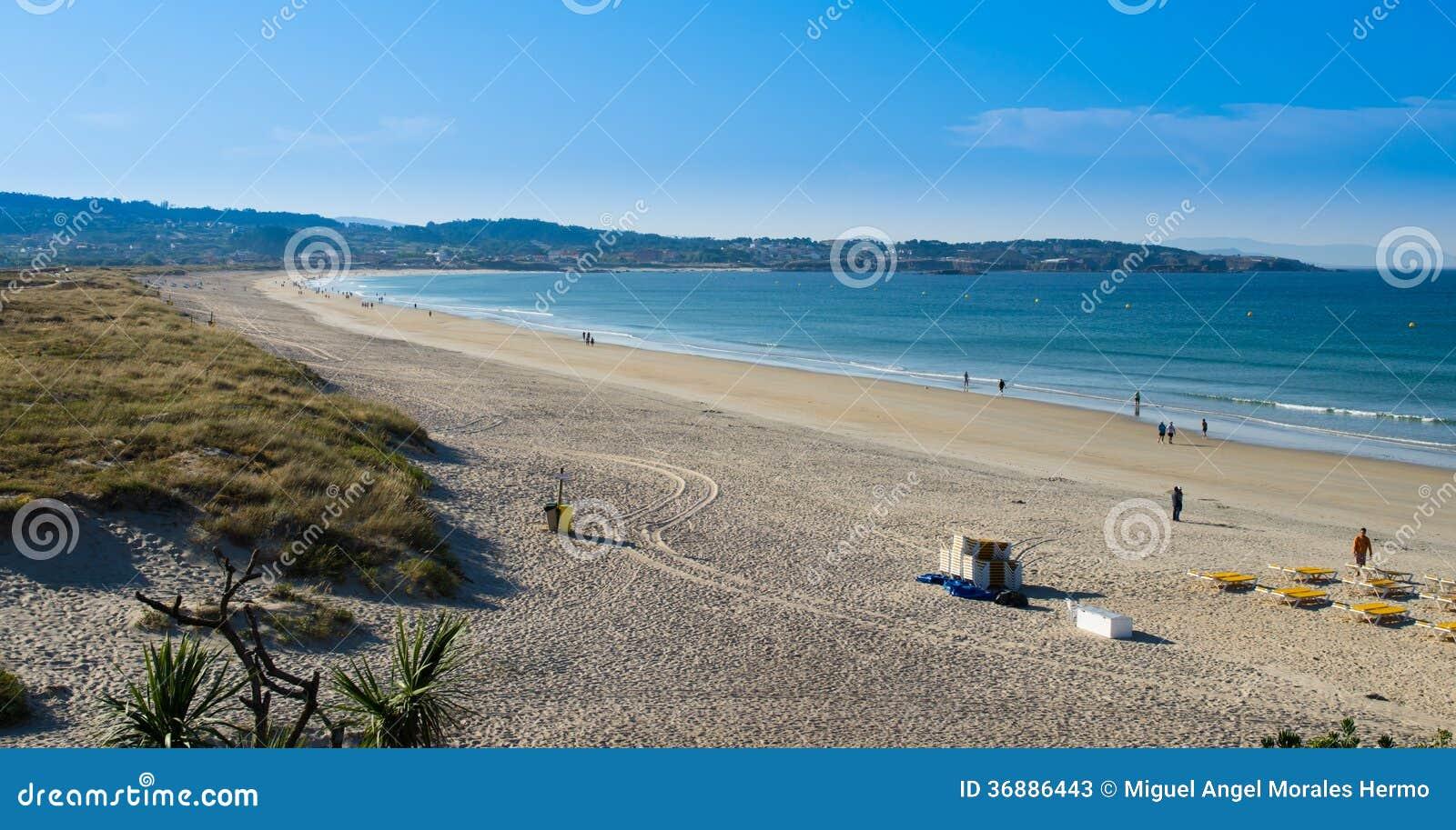 Download Spiaggia Di Lanzada Della La Fotografia Stock Editoriale - Immagine di acqua, background: 36886443