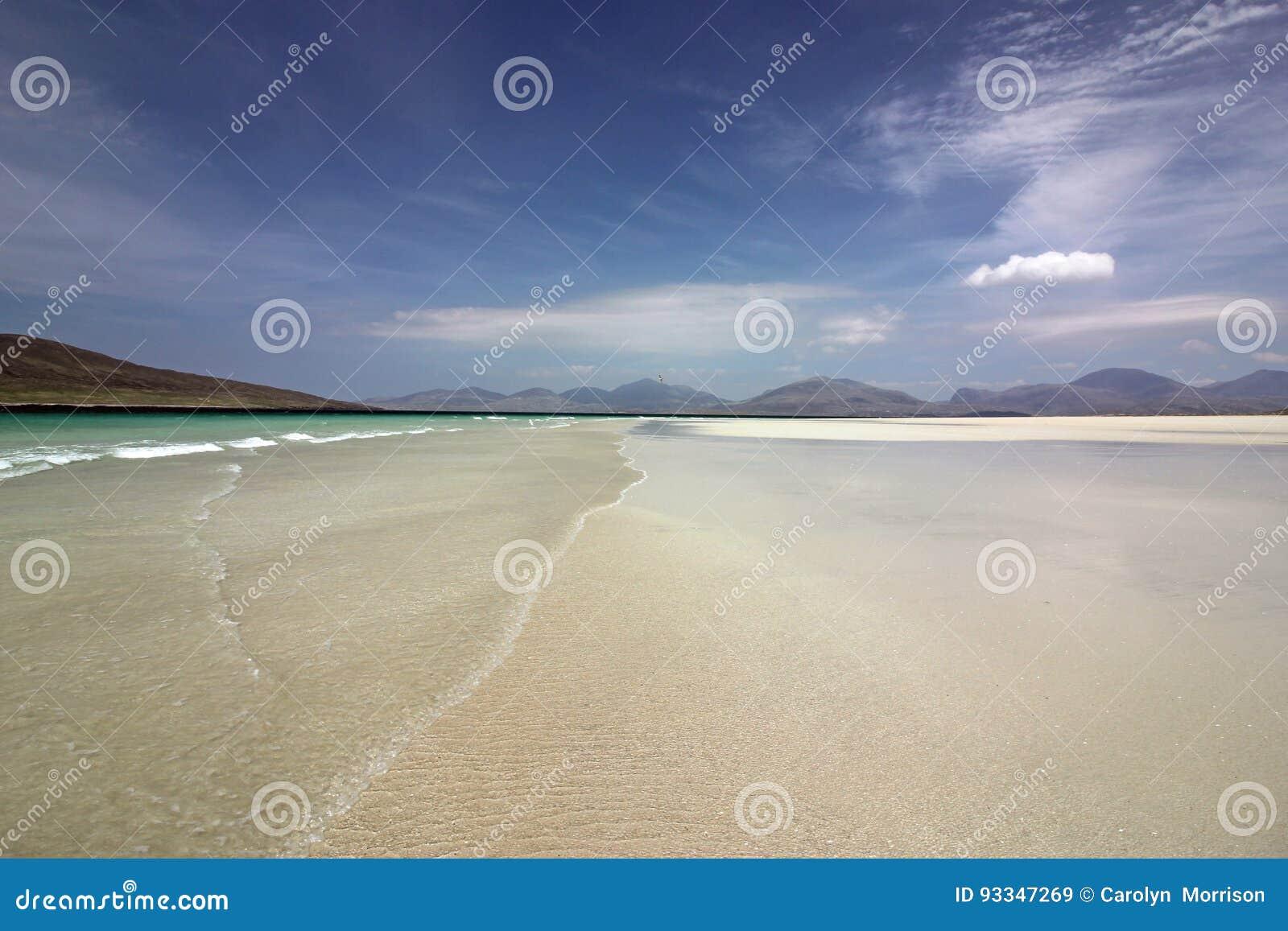 Spiaggia di Luskentyre, isola di Harris, Scozia
