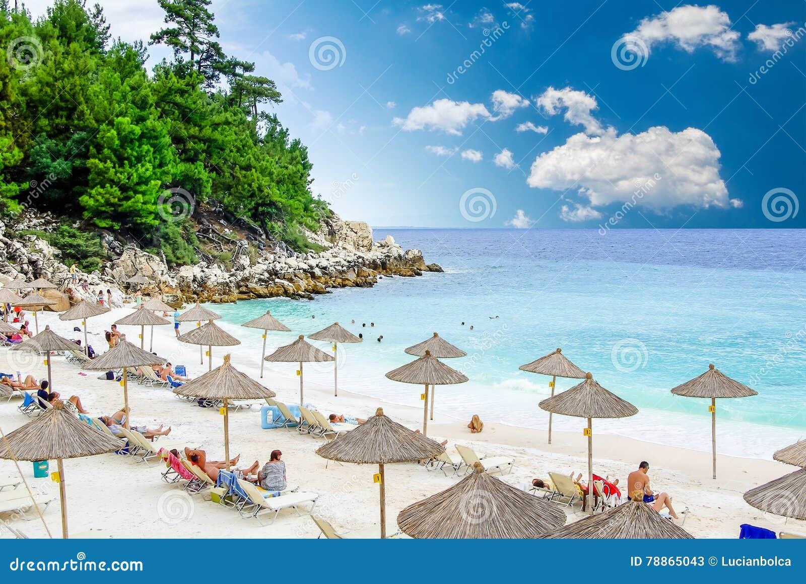 Spiaggia Di Marmo Spiaggia Di Saliara Isole Di Thassos