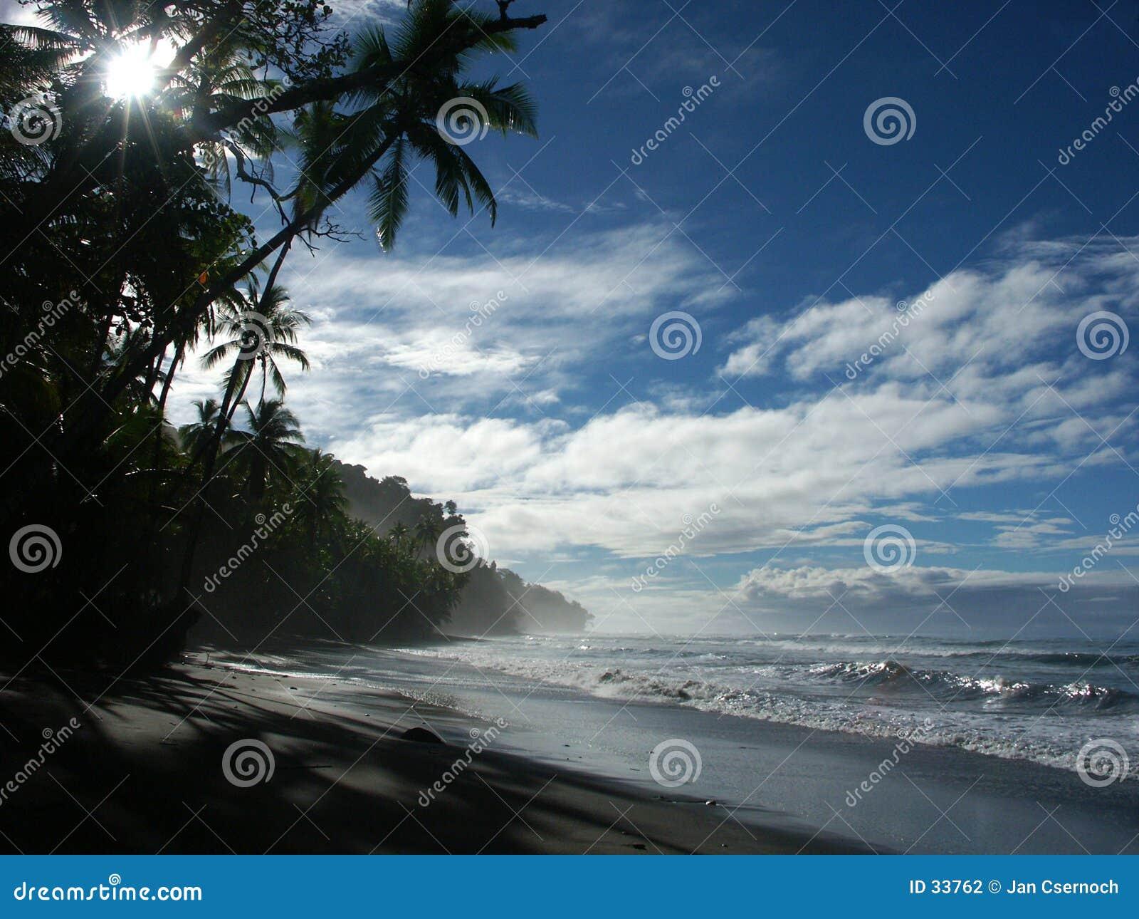 Spiaggia di mattina