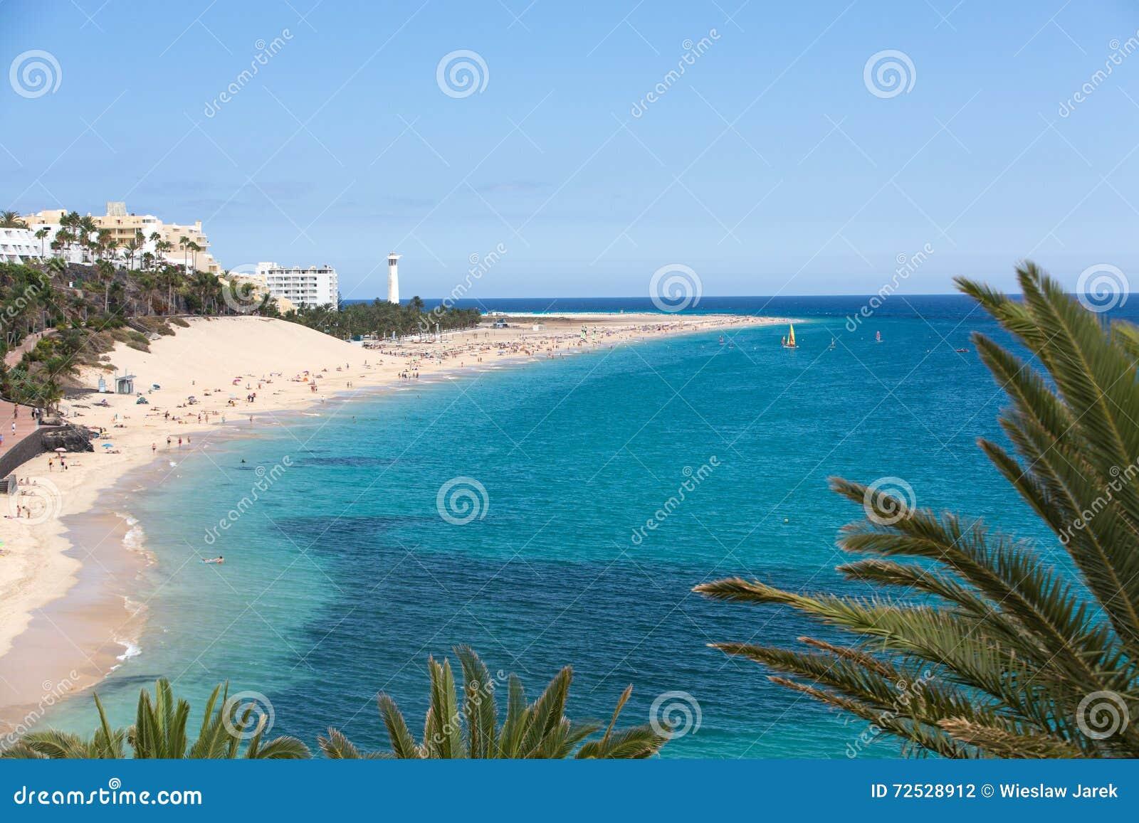 Spiaggia di Morro Jable, Isole Canarie Fuerteventura