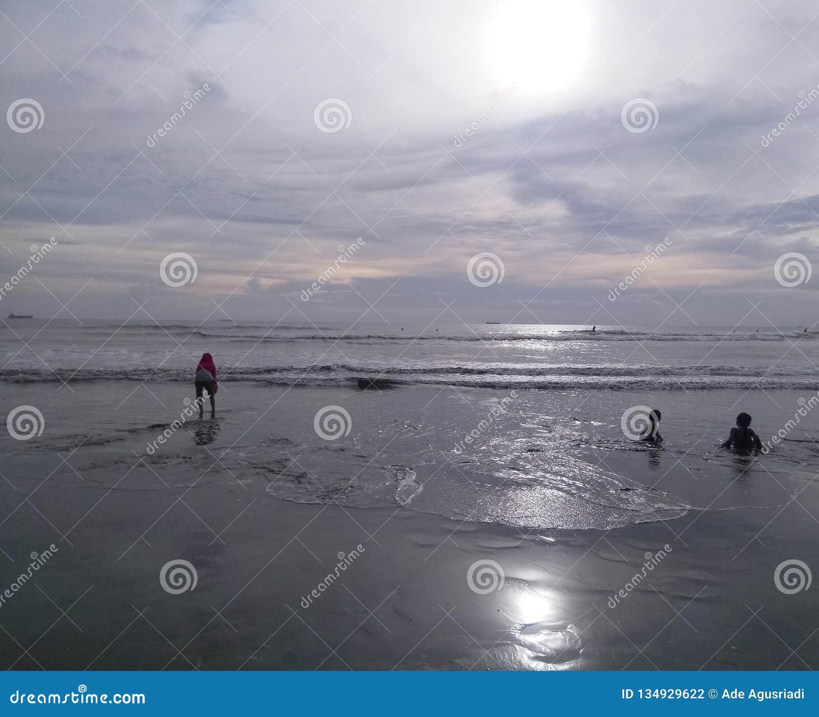 Spiaggia di Padang di vista