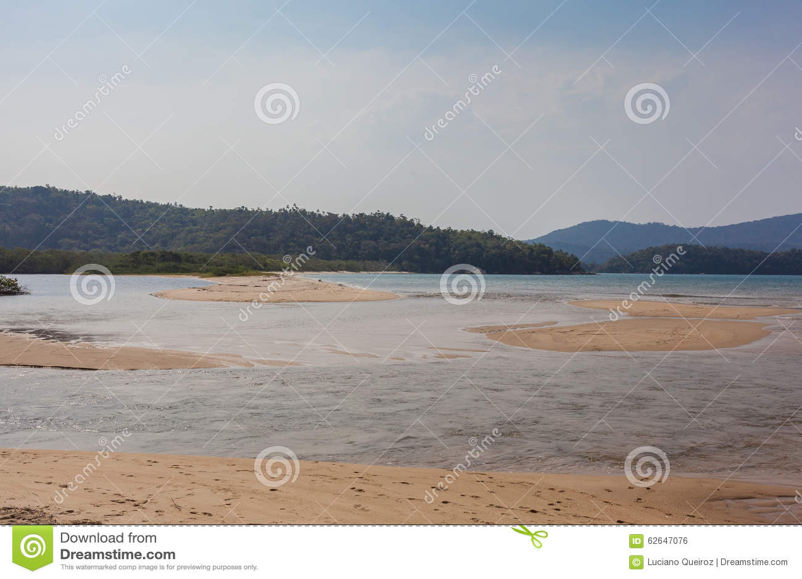 Spiaggia di Paraty Mirim - Paraty - RJ - Brasile