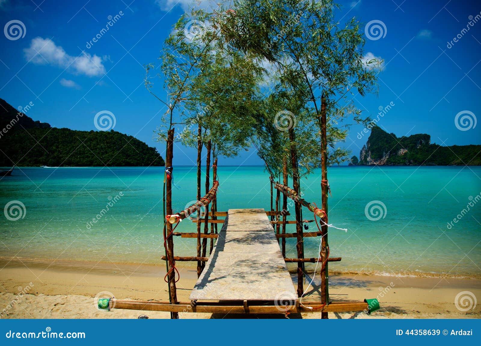 Spiaggia di phiphi del KOH