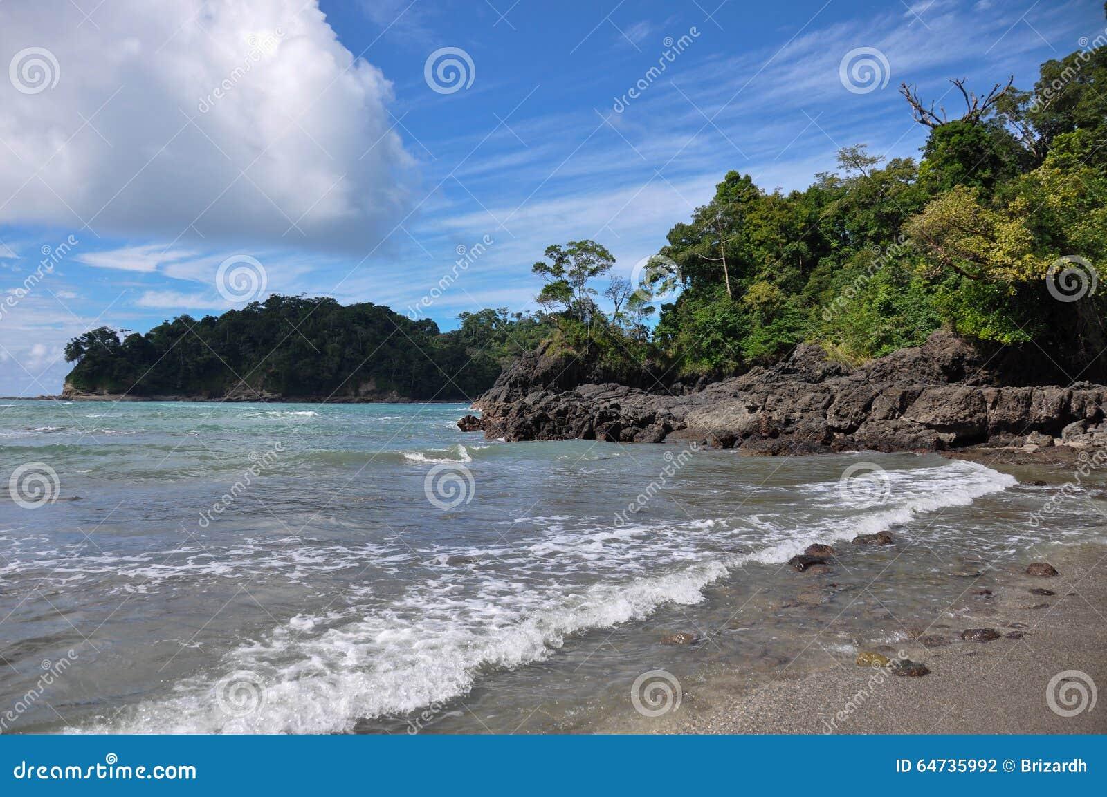 Spiaggia a Manuel Antonio National Park, Costa Rica