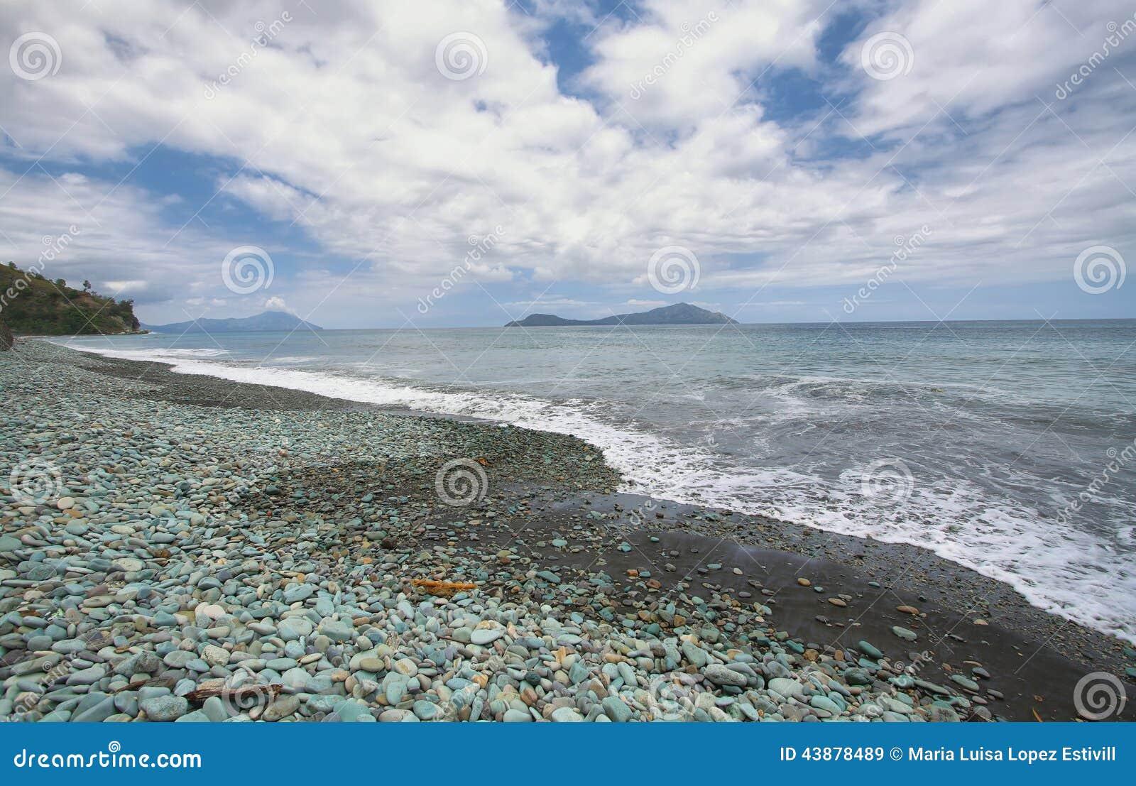 Spiaggia nell isola del Flores