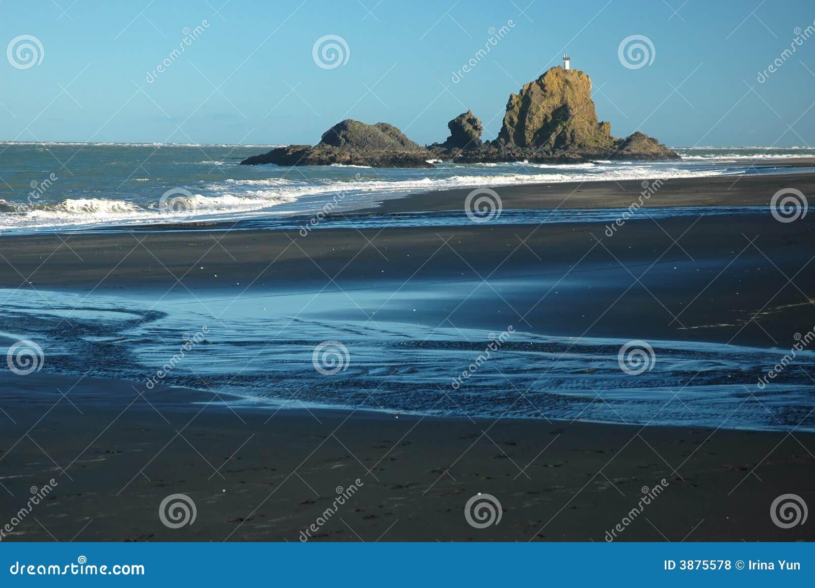 Spiaggia selvaggia dell oceano
