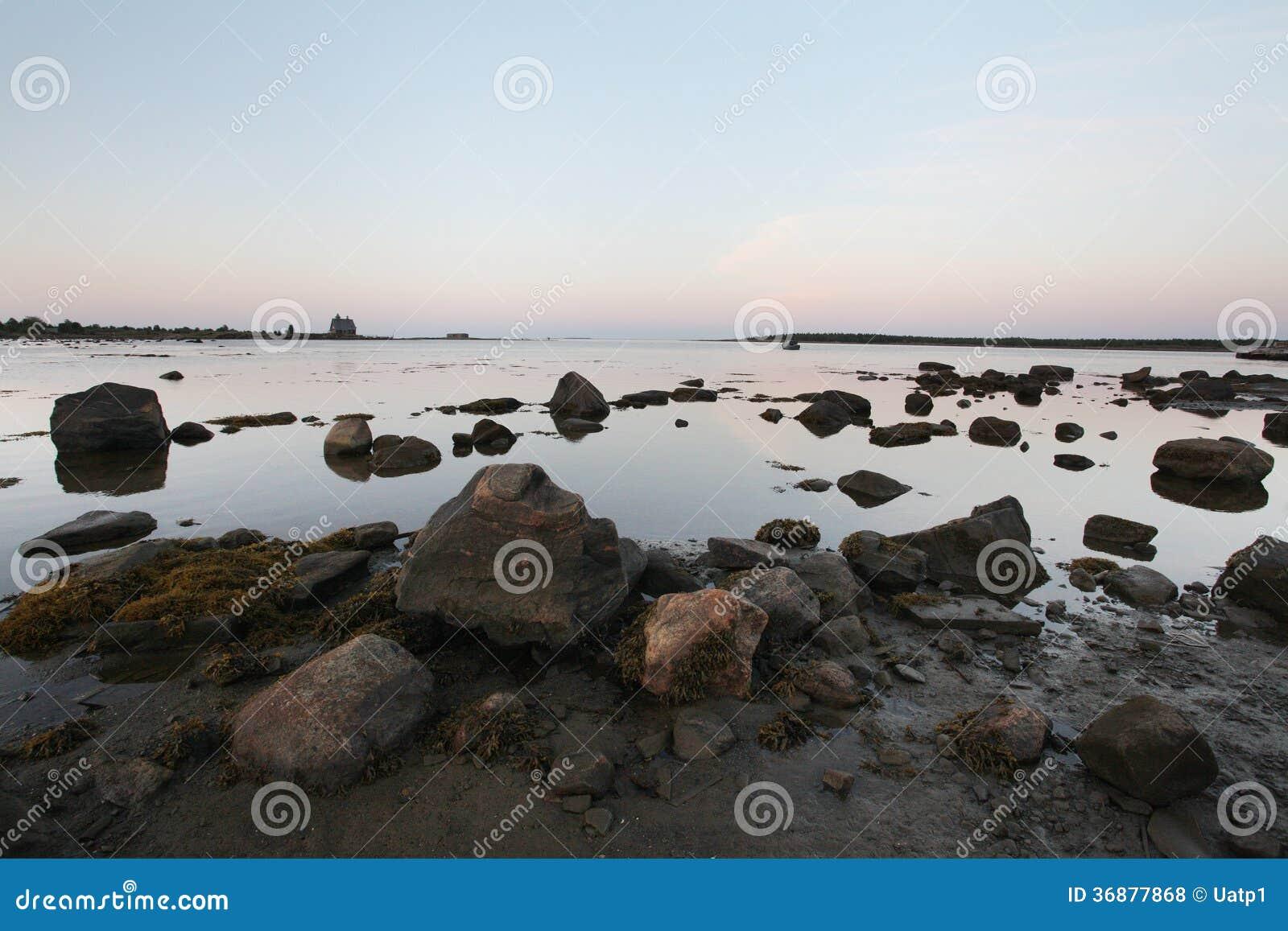 Download Spiaggia Sull'isola Di Solovetsky, Russia Fotografia Stock - Immagine di isola, pulito: 36877868