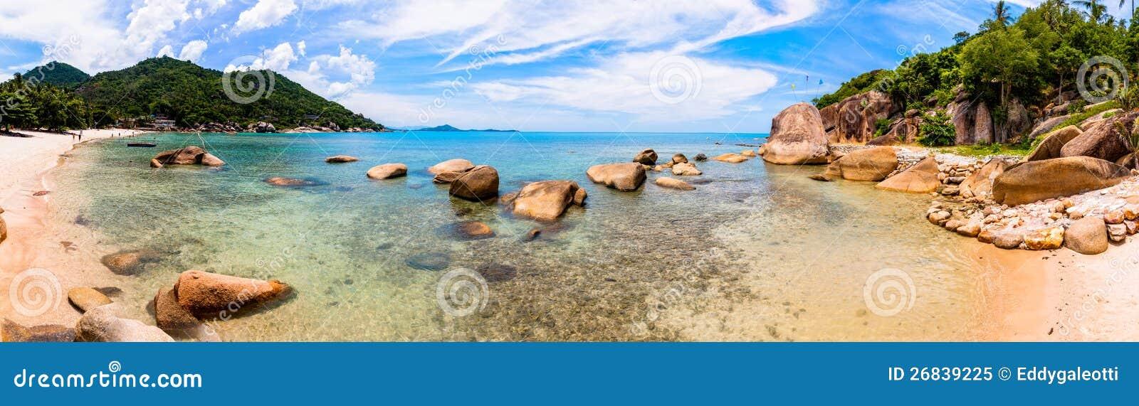 Spiaggia tropicale in KOH Samui, Tailandia