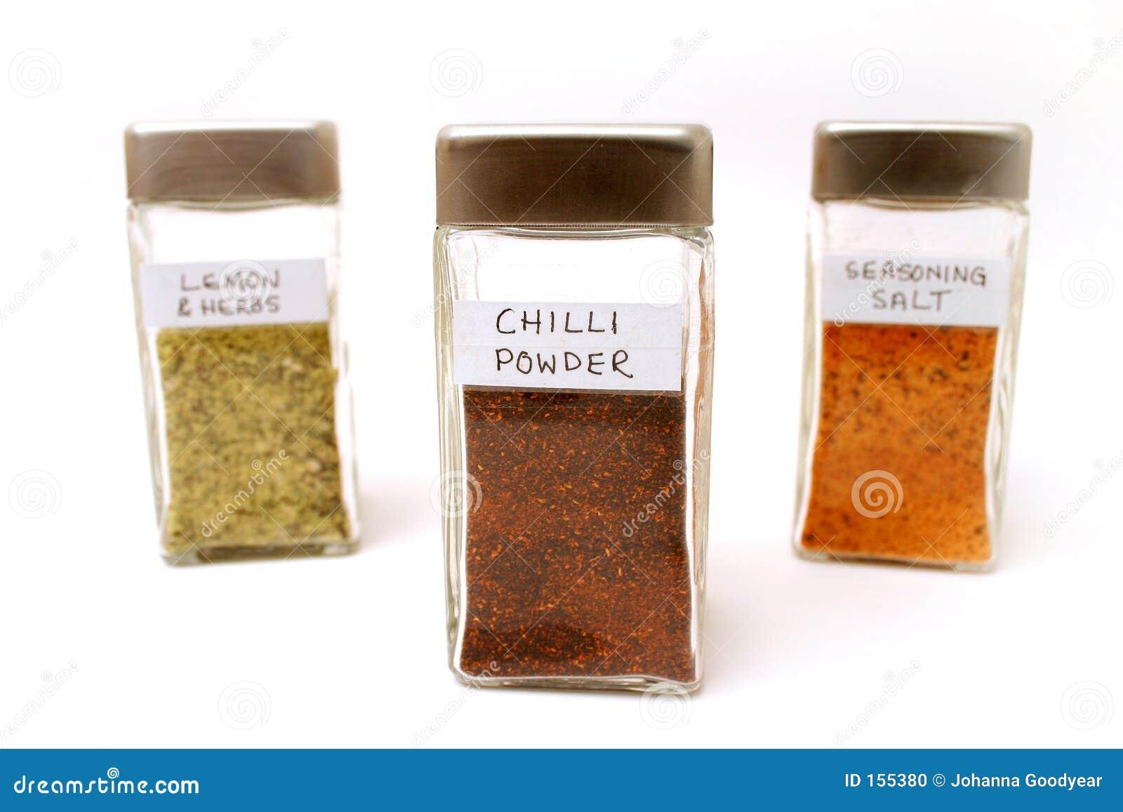 Spice bottles 2