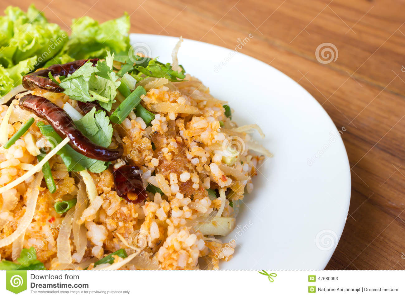 Spice fried rice with pork traditional food of thailand for 8 spices thai cuisine