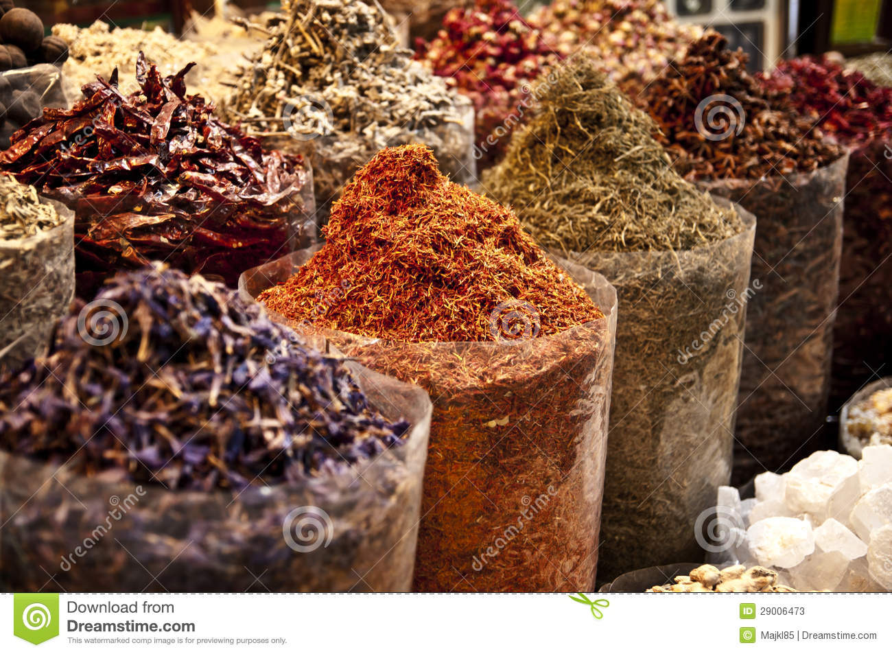 Middle East Spice Market stock image. Image of goods ...   Middle East Spice Market