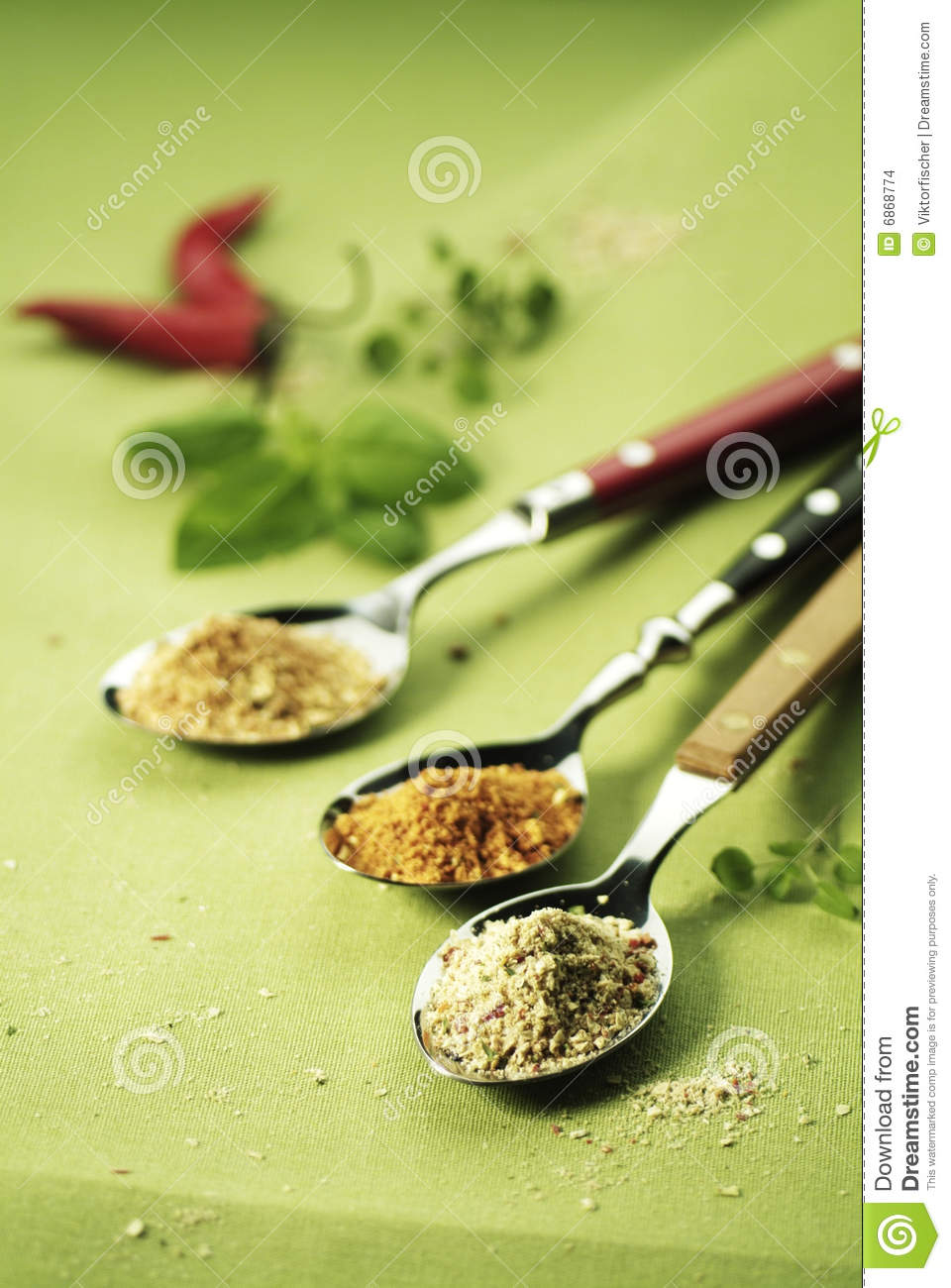 Spices spoonfuls 3