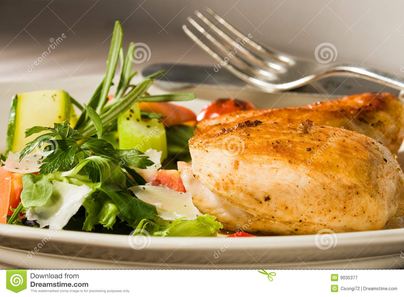 Spicy Grilled Chicken Breast Royalty Free Stock ...