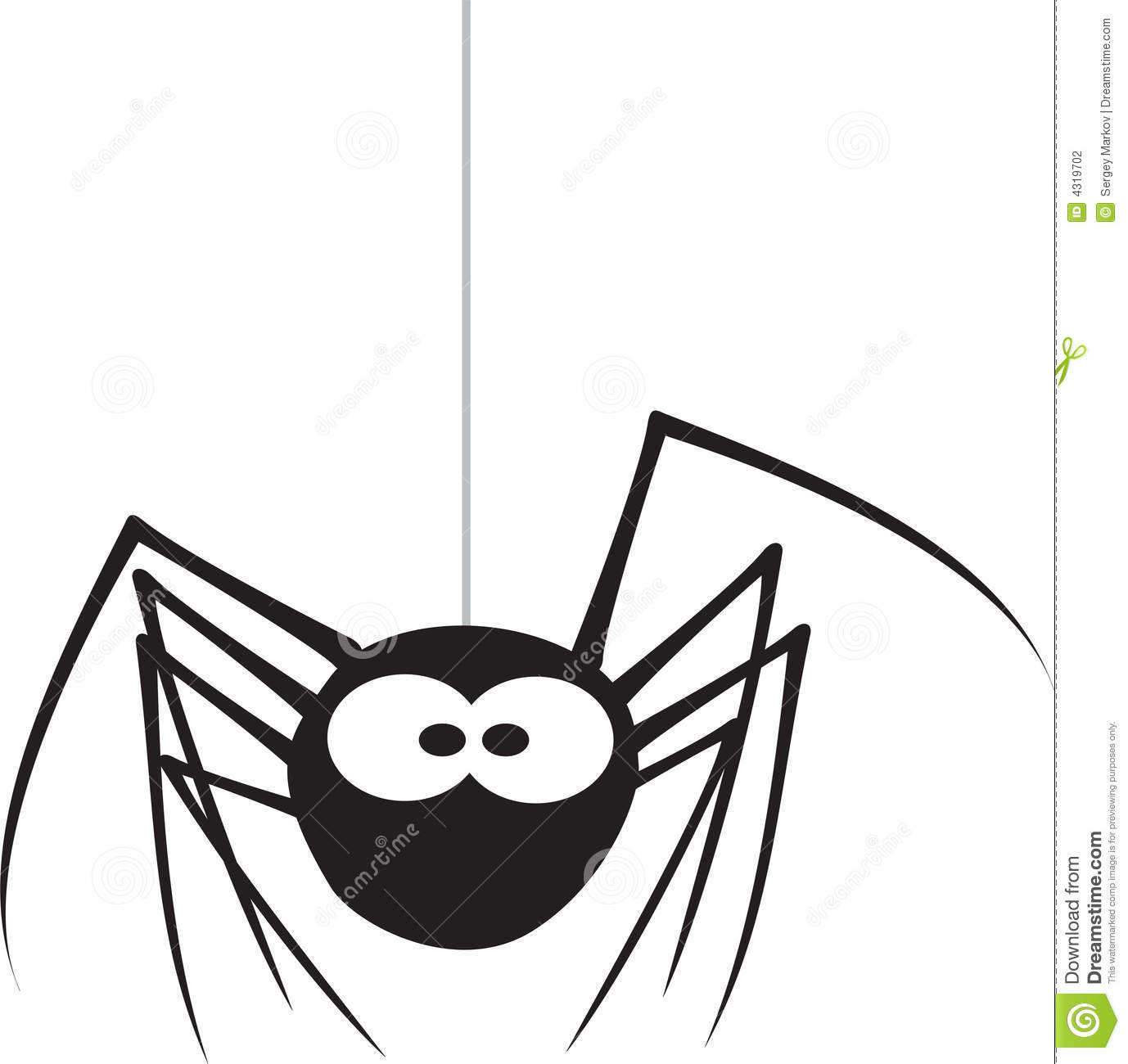 Spider Stock Vector Illustration Of Creepy Design