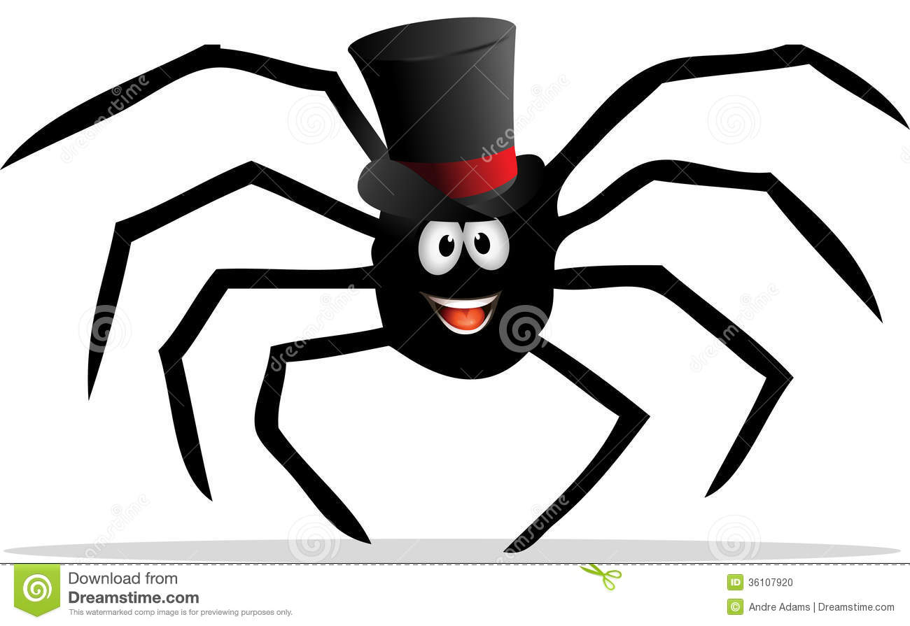Spider With A Tophat Stock Photo - Image: 36107920