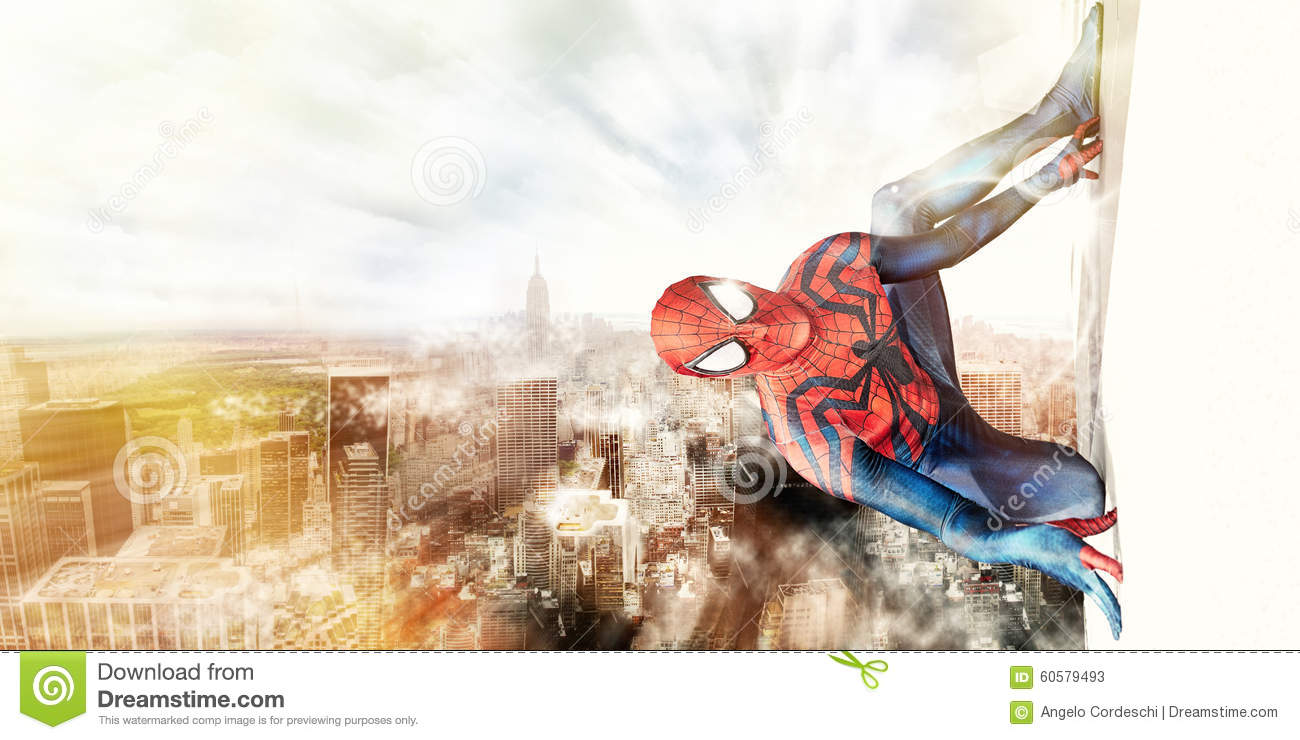 Spiderman en de Stad van New York