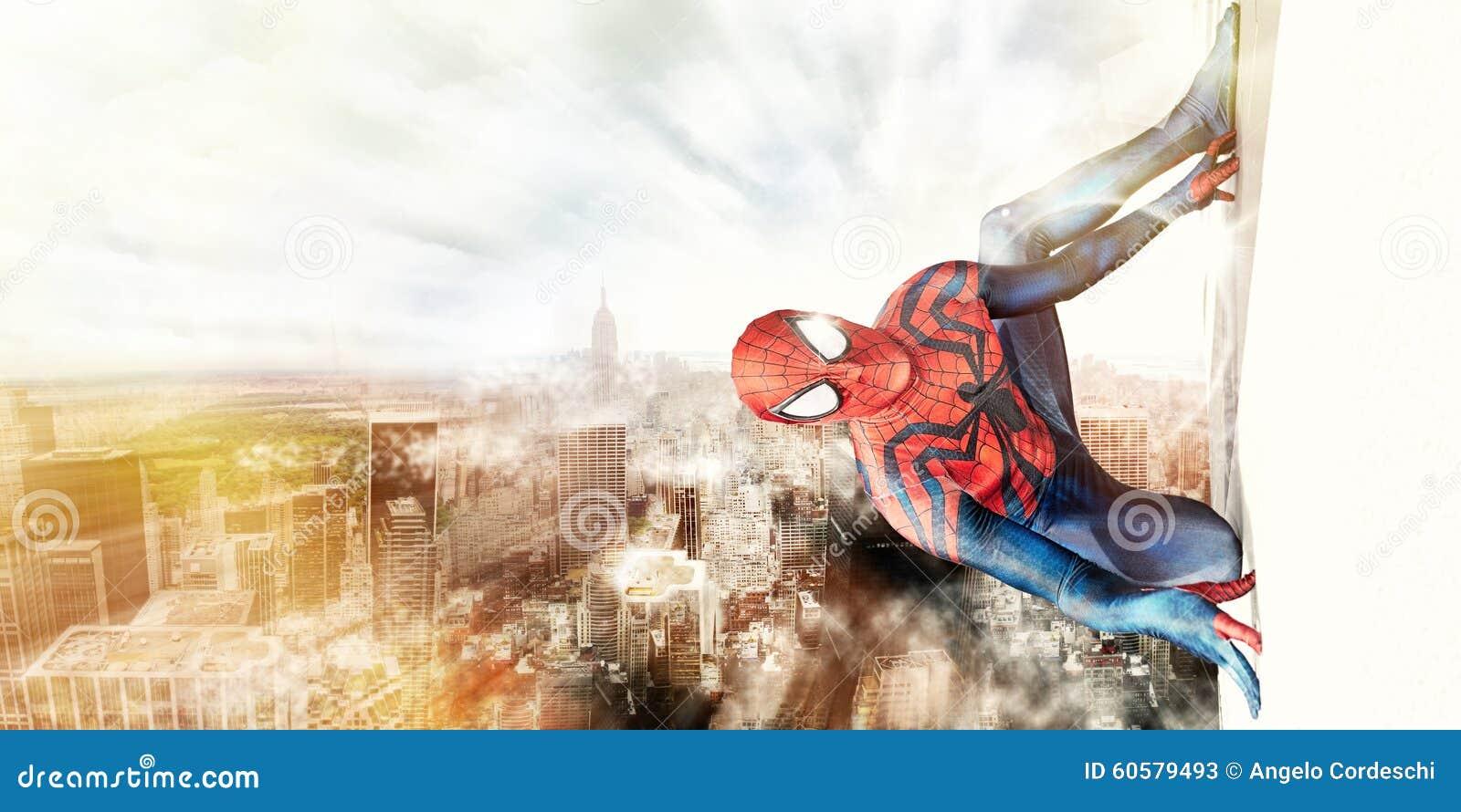Spiderman och New York City