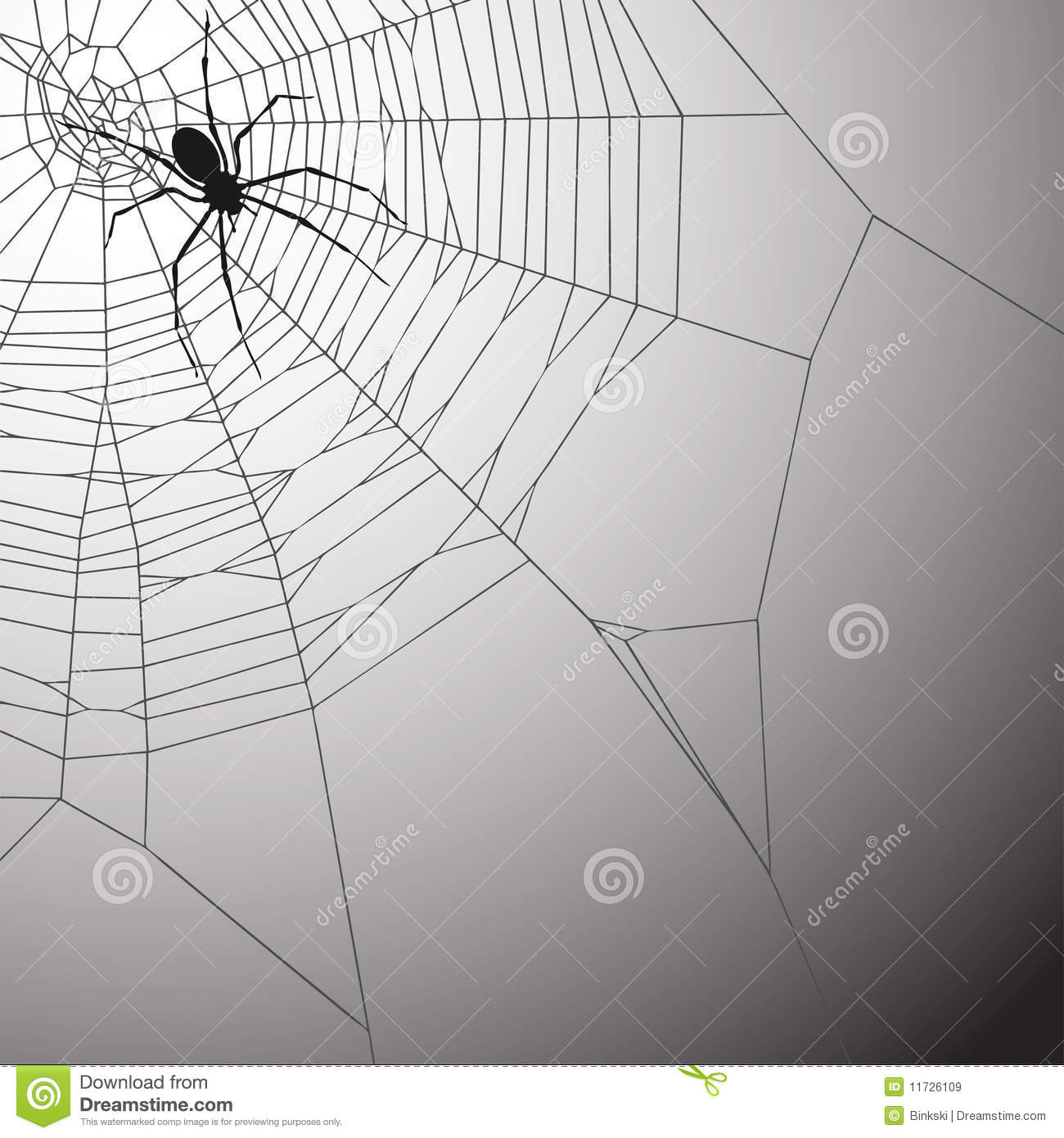 Spiderweb Background Royalty Free Stock Images - Image: 11726109